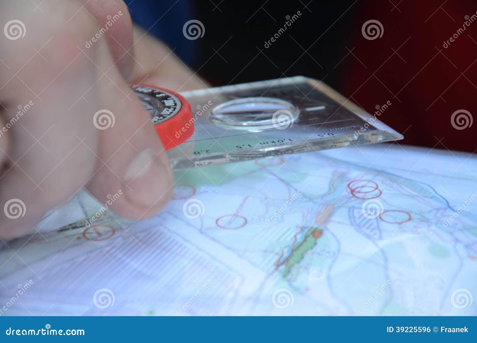 Esporte que orienteering