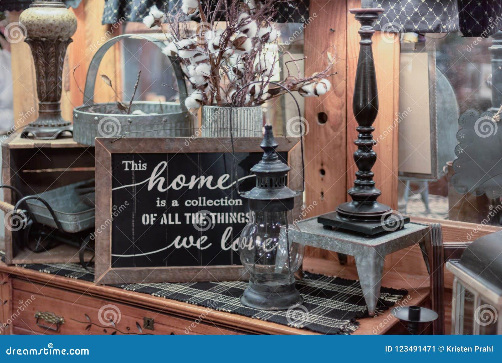 Arredamento Rustico Casa esposizione da tavolo degli articoli da arredamento rustici