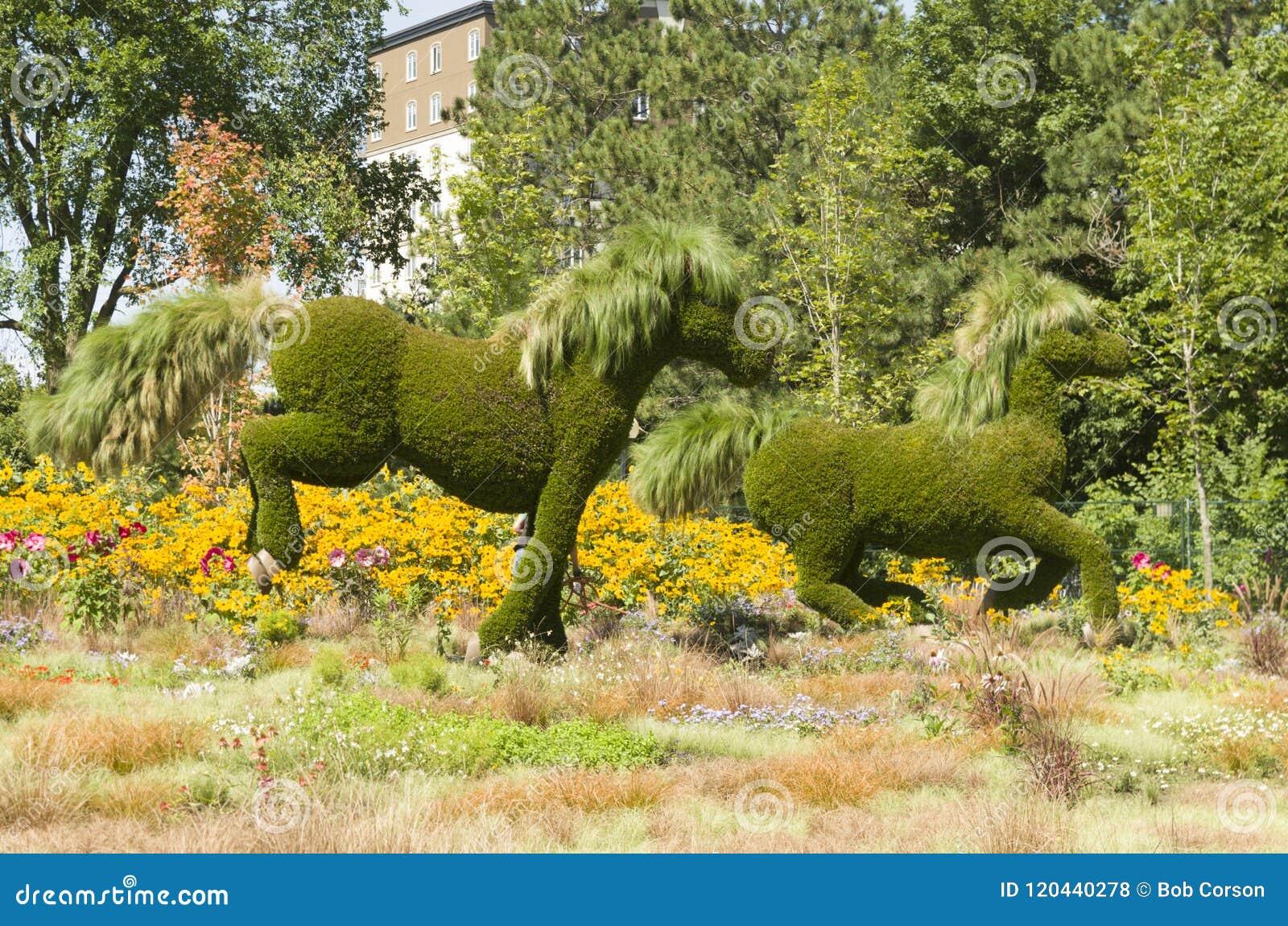 Esposizione di MosaïCanada 150 dei cavalli