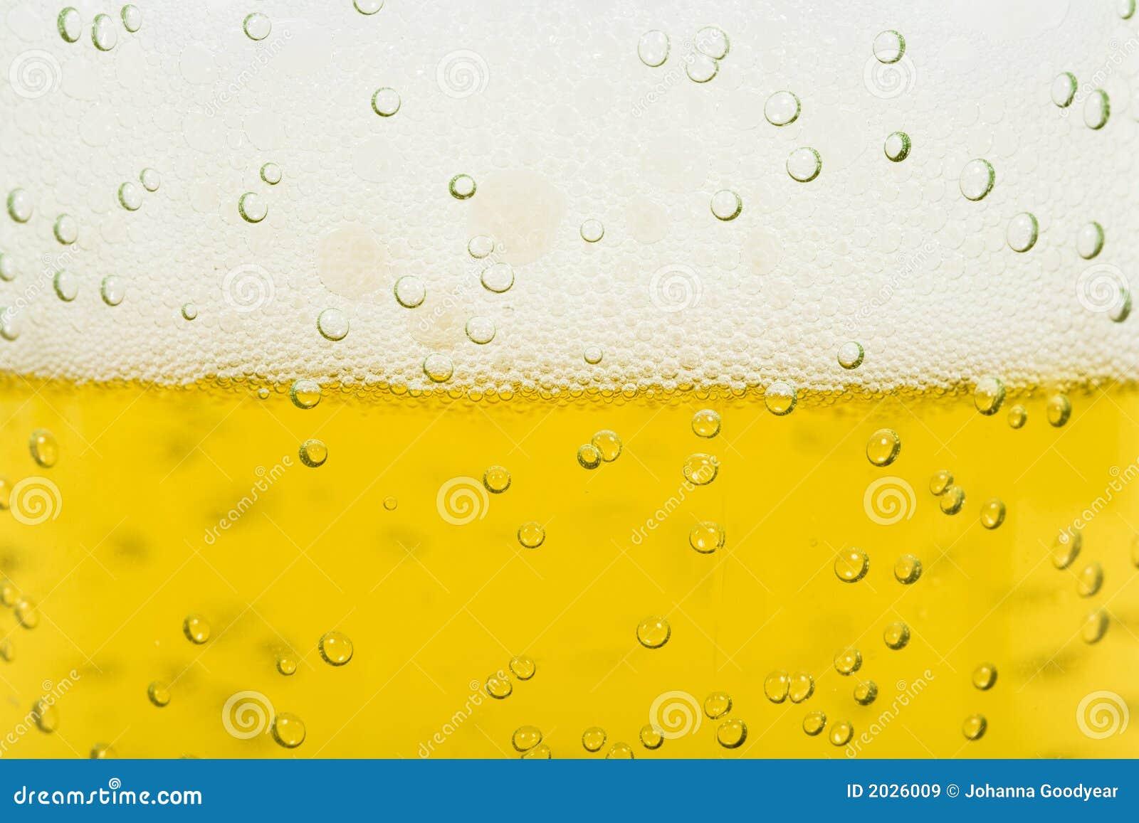 Espuma da cerveja