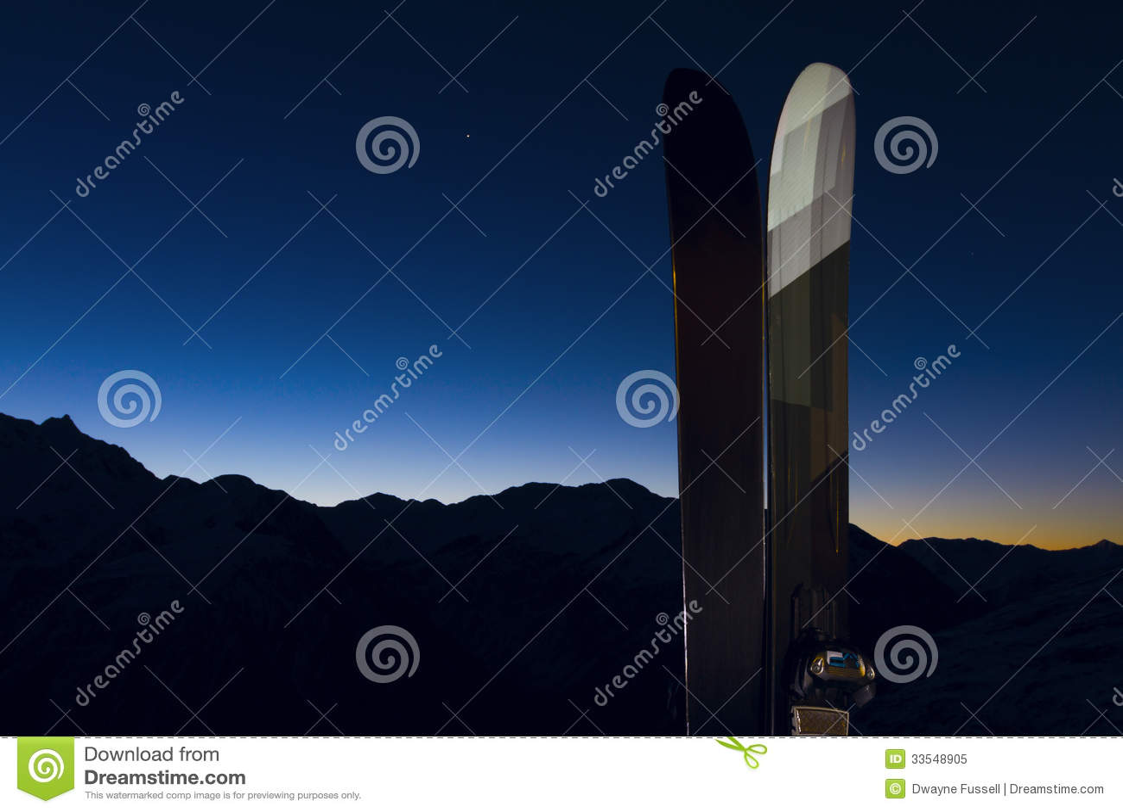 2 esquís