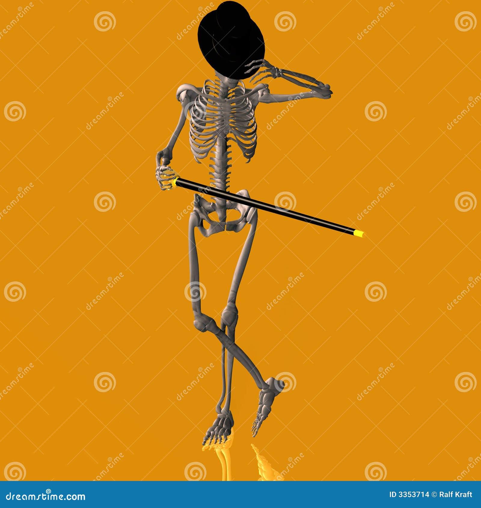 Esqueleto #03 da dança