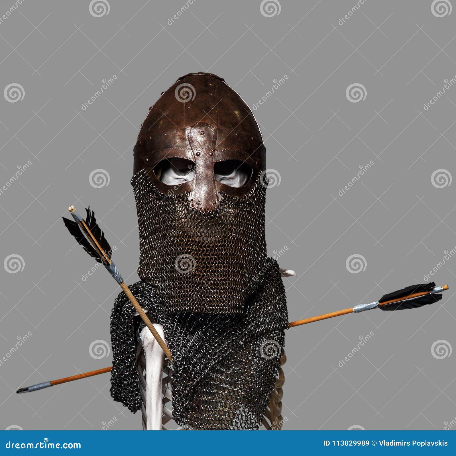 Esqueleto en la armadura