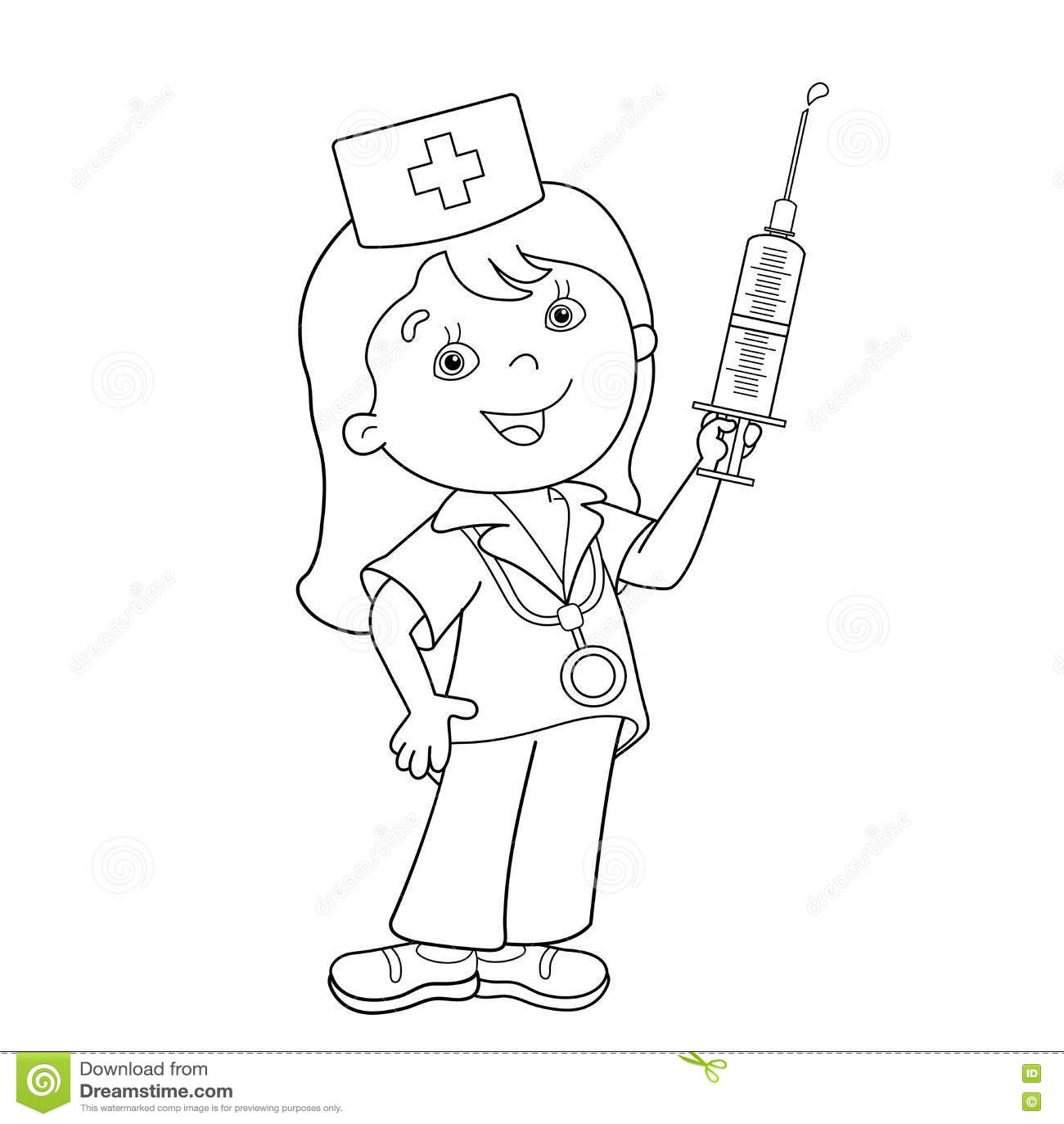 Bonito Doctor Que Colorear Páginas Gratis Elaboración - Dibujos de ...