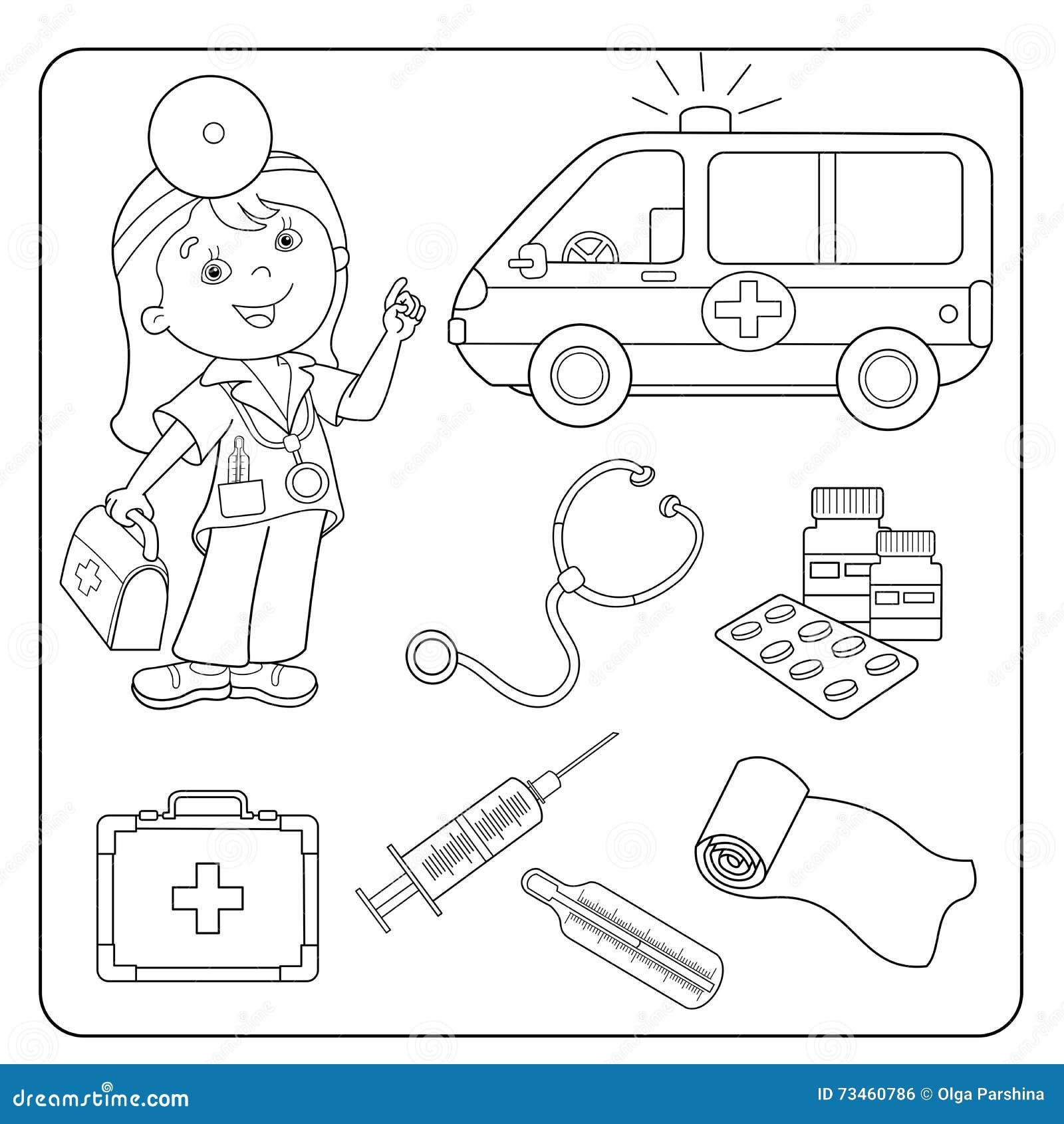 de la ambulancia Sistema de instrumentos médicos profesión medicina #82A328 1300x1390