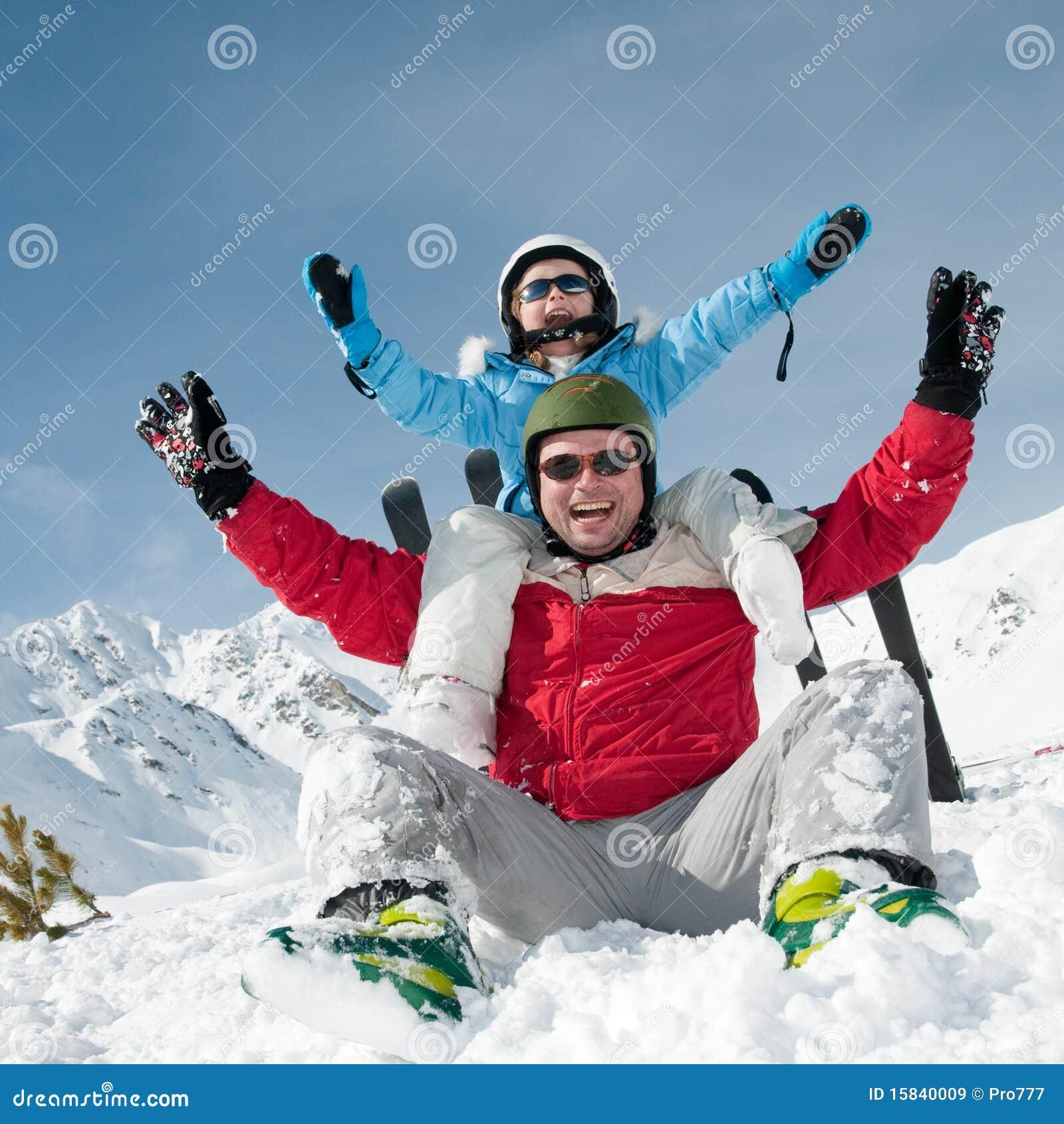 Esqui, sol e divertimento