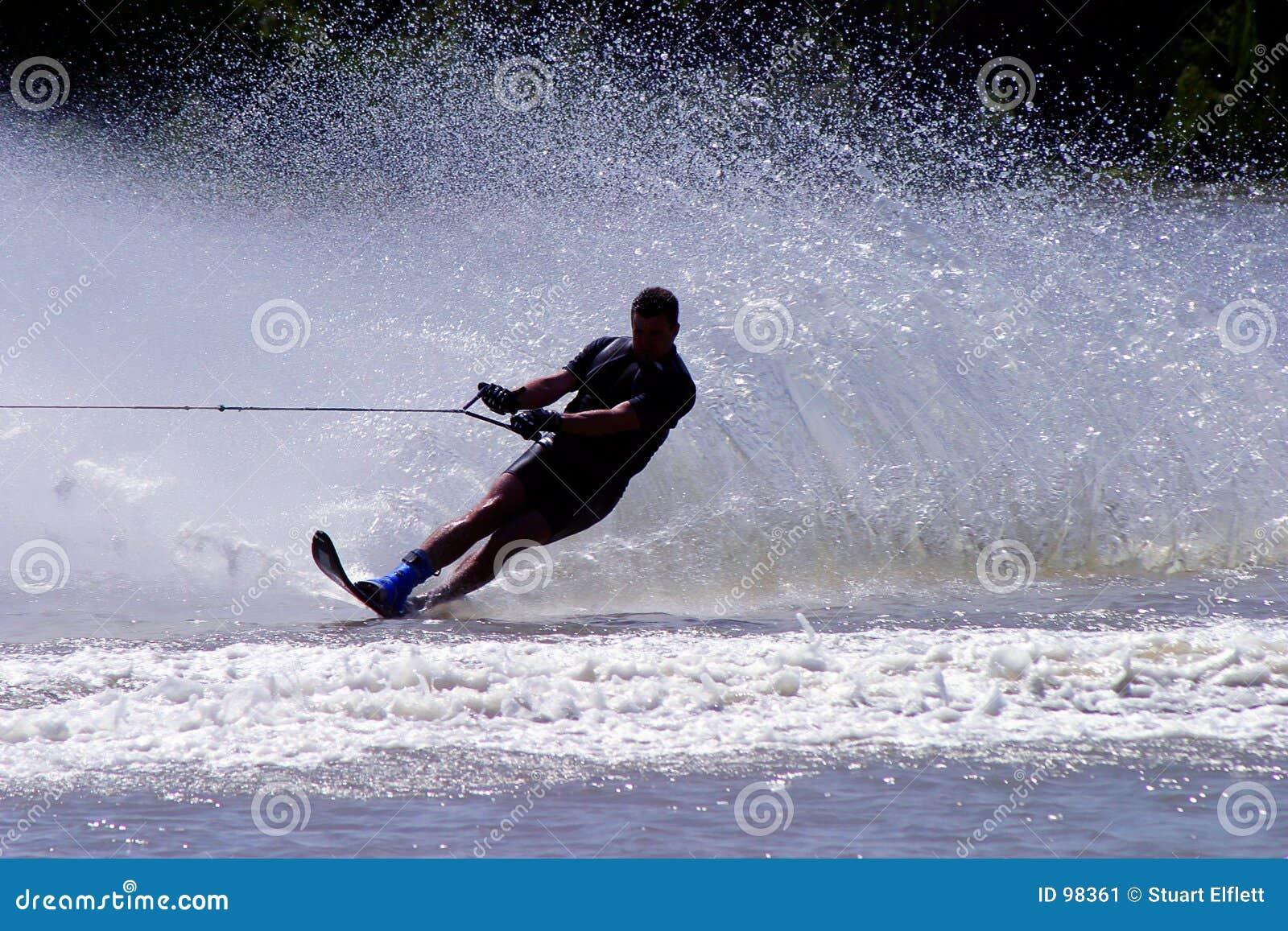 Esquiador del agua?