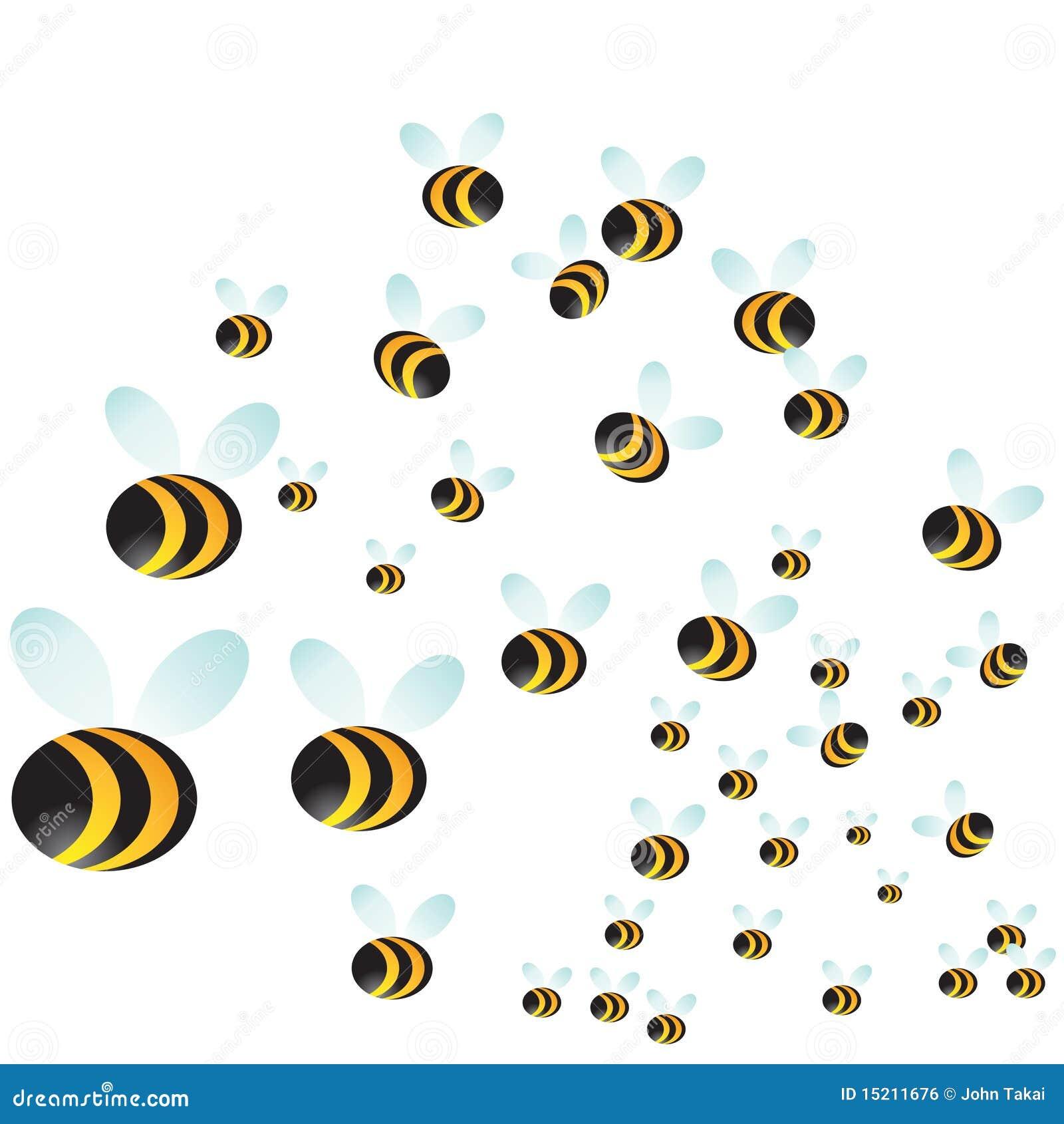 black paper wasps