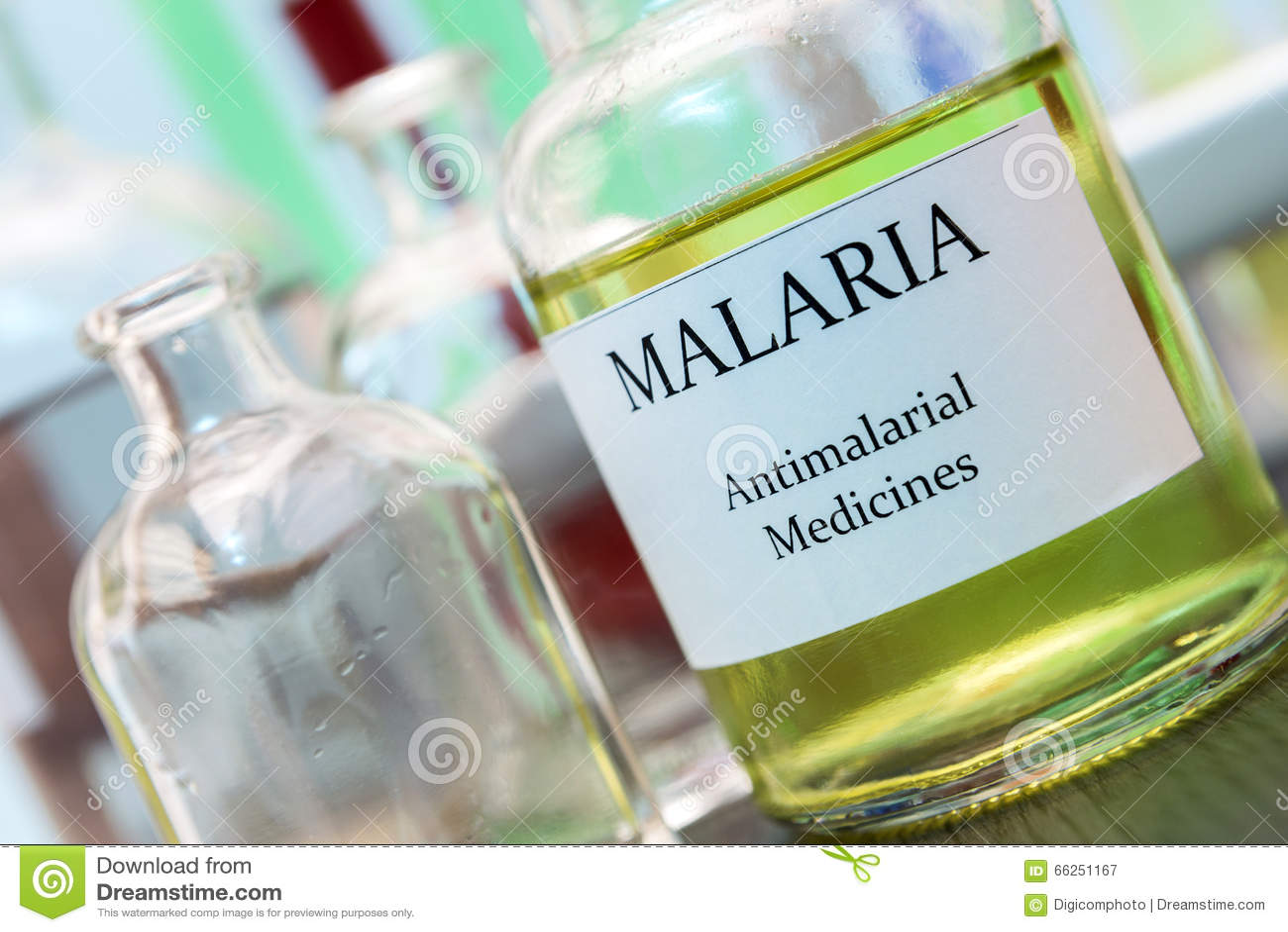 Essais pour la recherche de la malaria