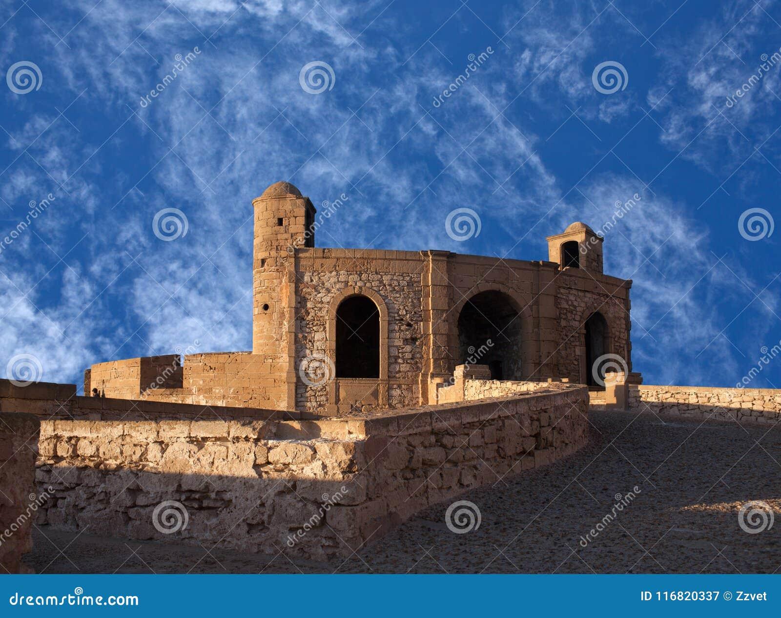 Essaouira-Festung in Marokko auf der Atlantikküste, Afrika