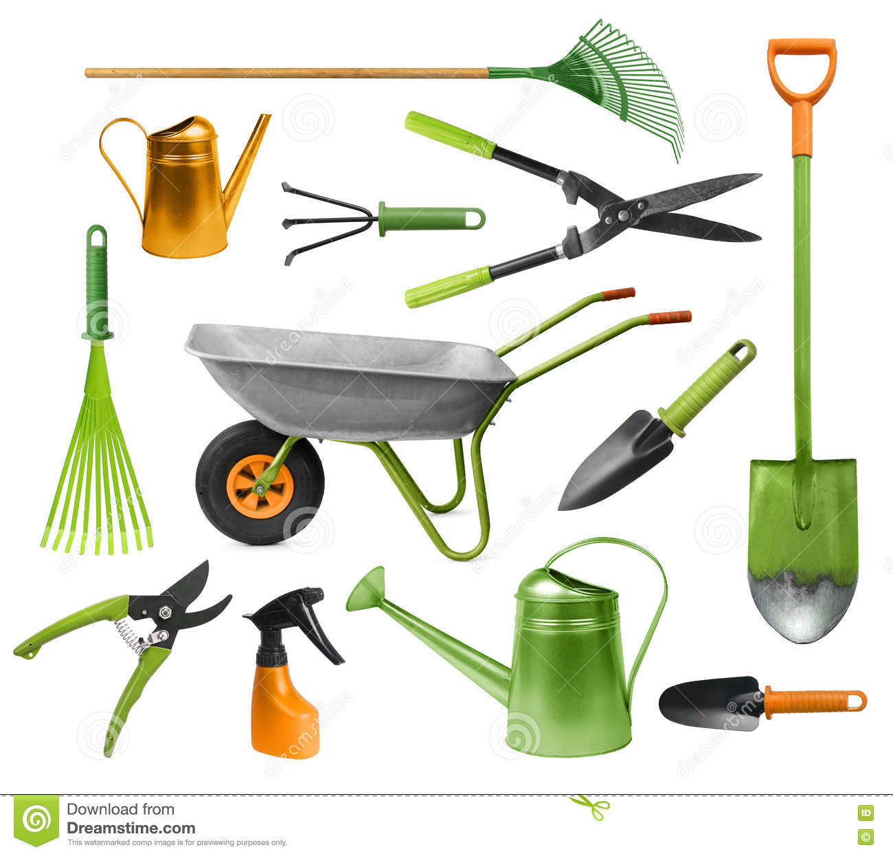Download Essential Gardening Hand Tools Stock Photo   Image Of Collection,  Tools: 73700824