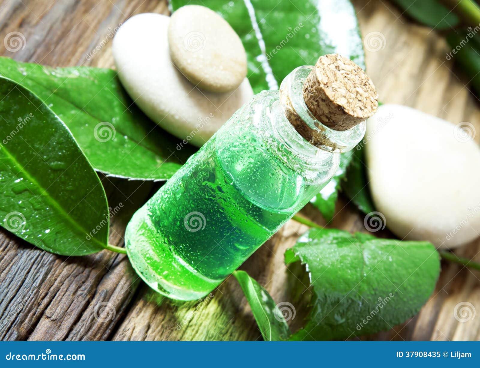 Essential Oil Bottle.Tea Tree Essence