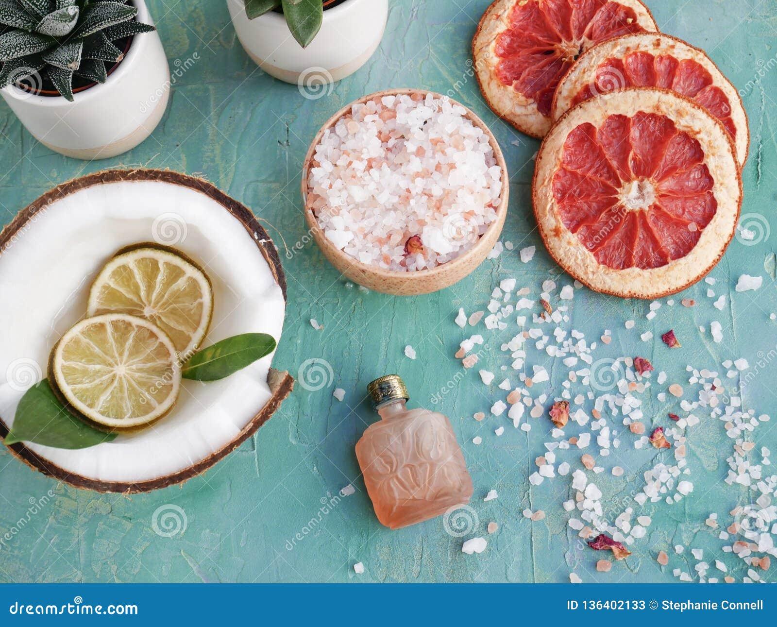 Essential oil and organic skincare