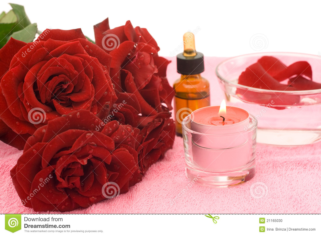 Essential oil and rose stock photo image 21165030 - Rose essential oil business ...