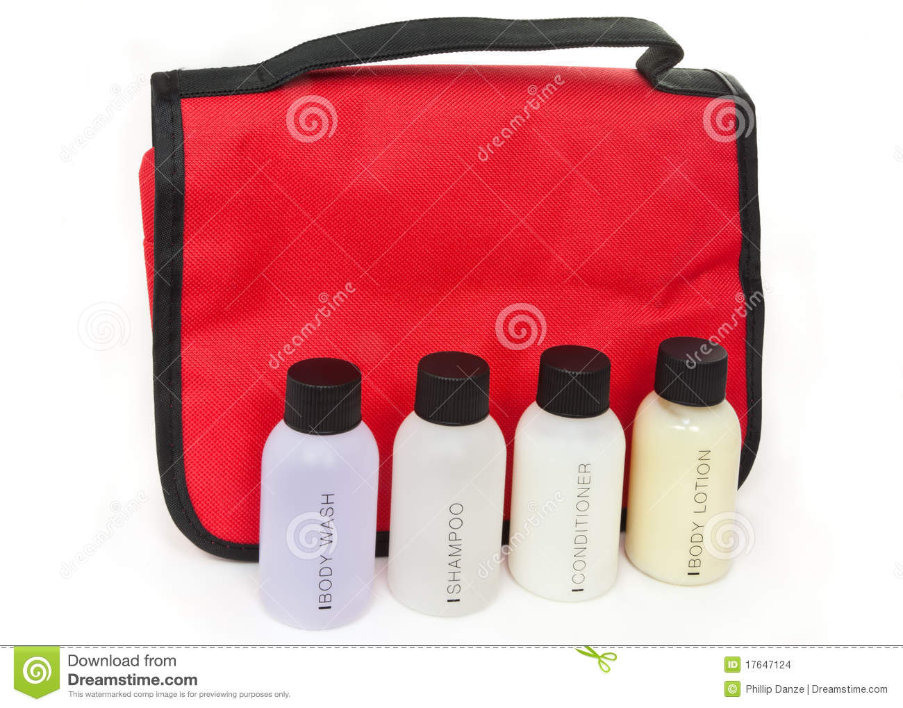 Essential Travel Toiletry Items Stock Images - Image: 17647124