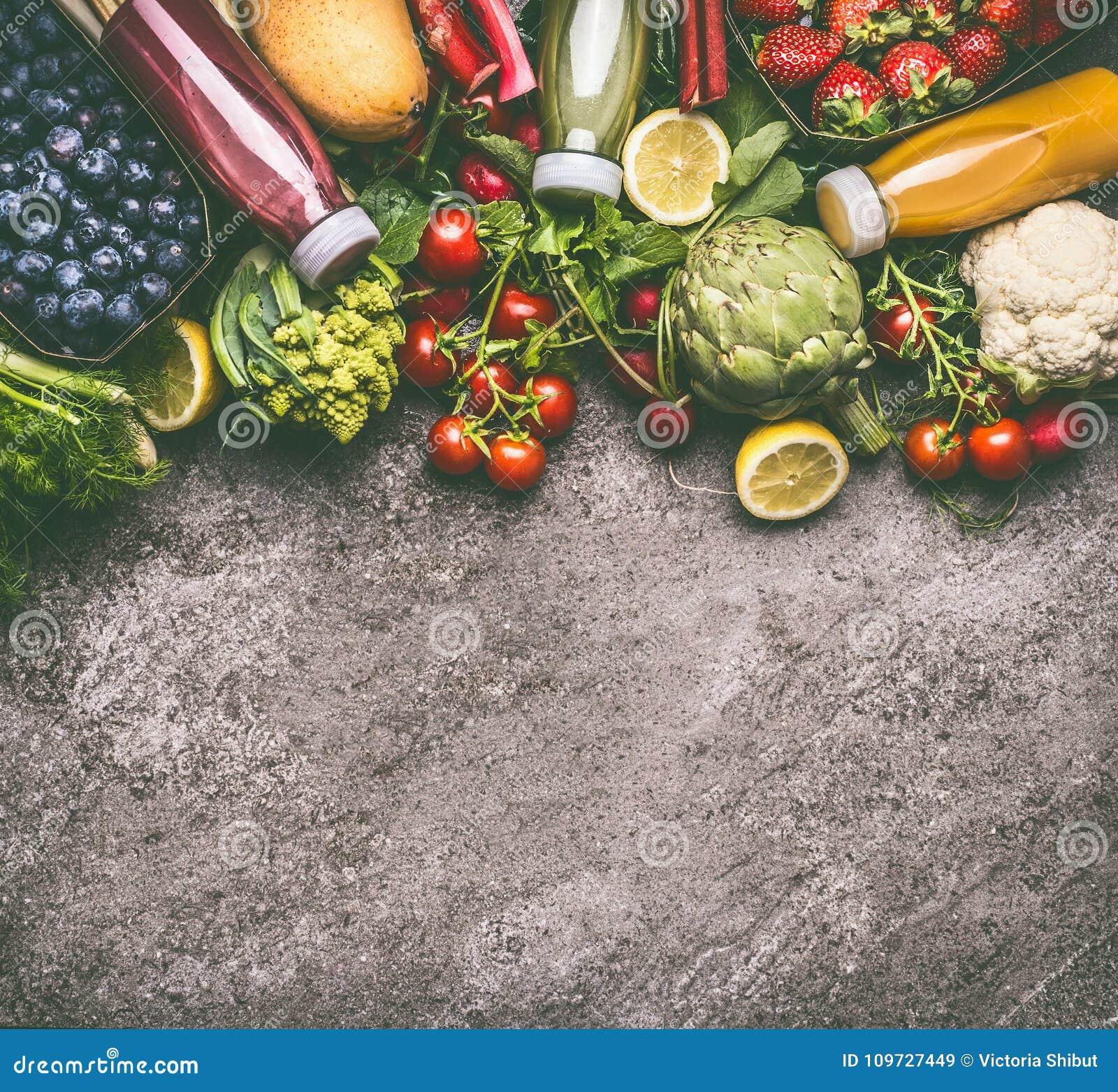 la frutta e la verdura puliscono la perdita di peso