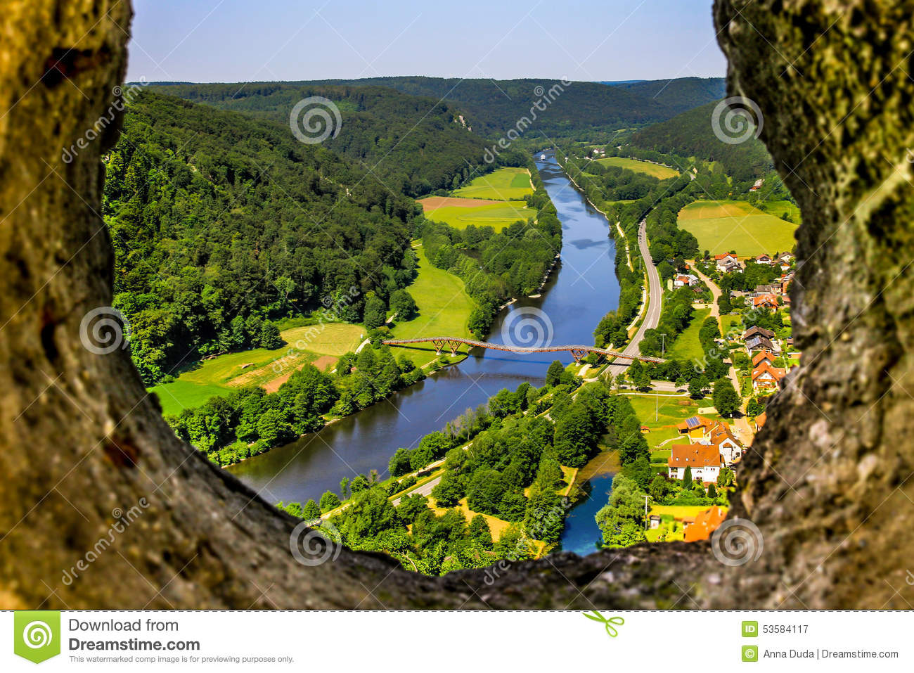 Essing Germany  City new picture : Essing Germany Bavaria Top View Altmuehl Valley Stock Photo Image ...