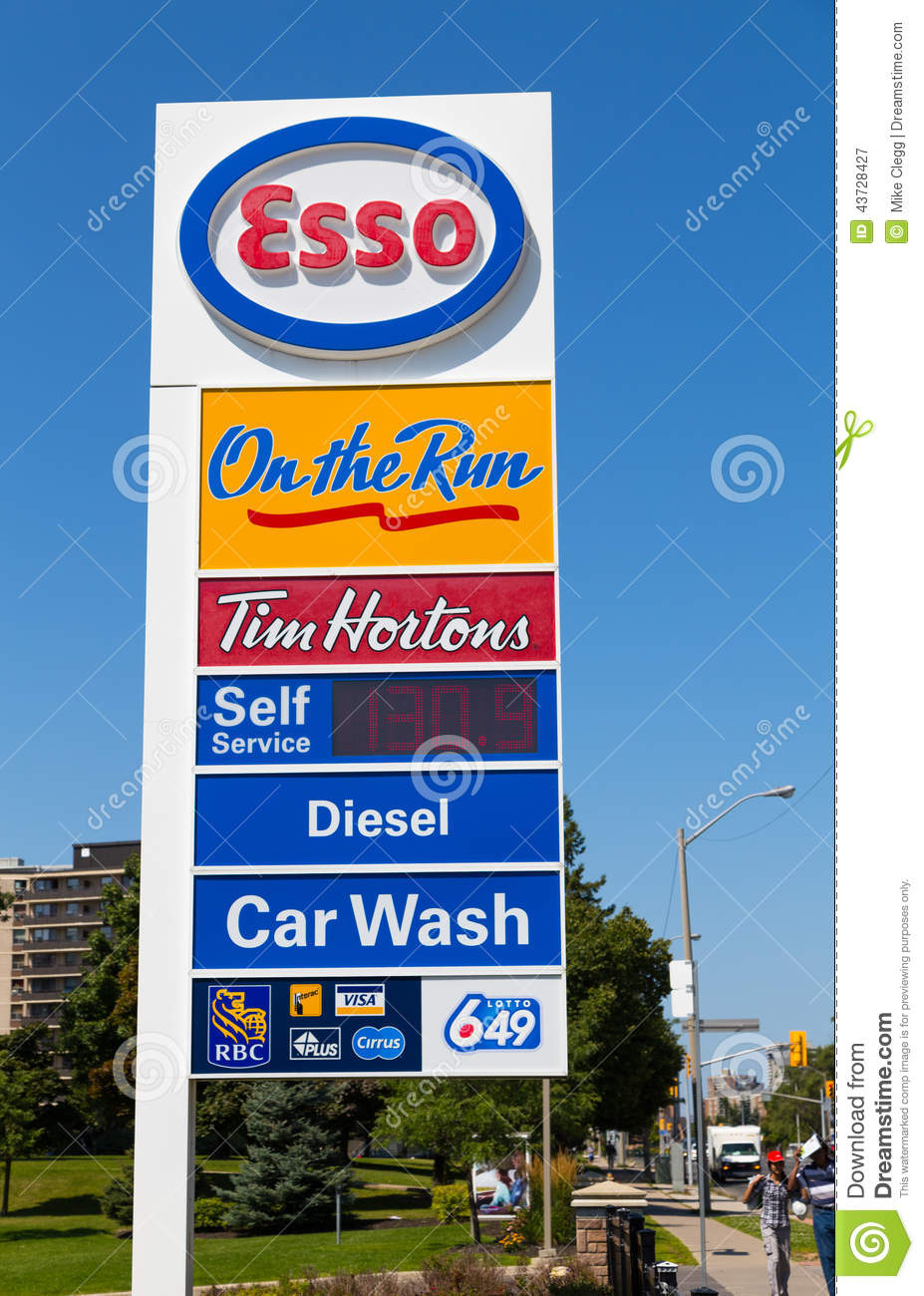 Gas Prices: Esso Gas Prices