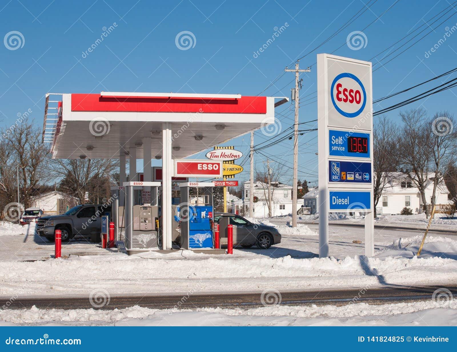 Esso Gas Station editorial image  Image of petroleum - 141824825