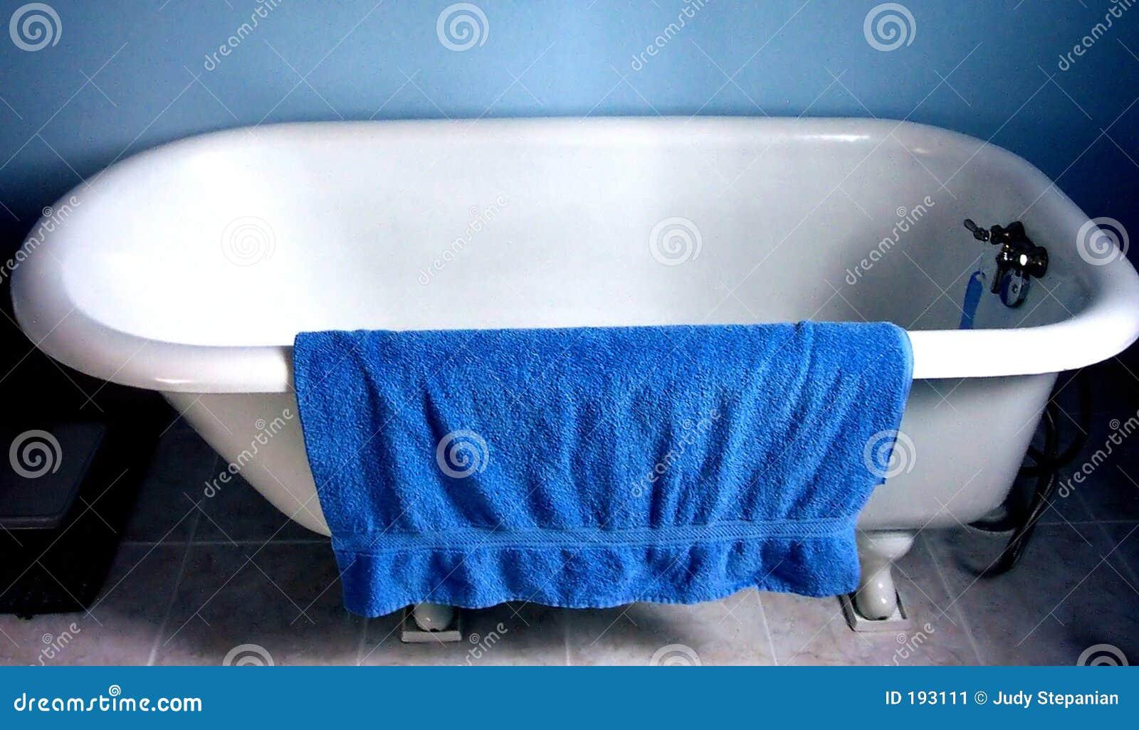 Essuie-main bleu