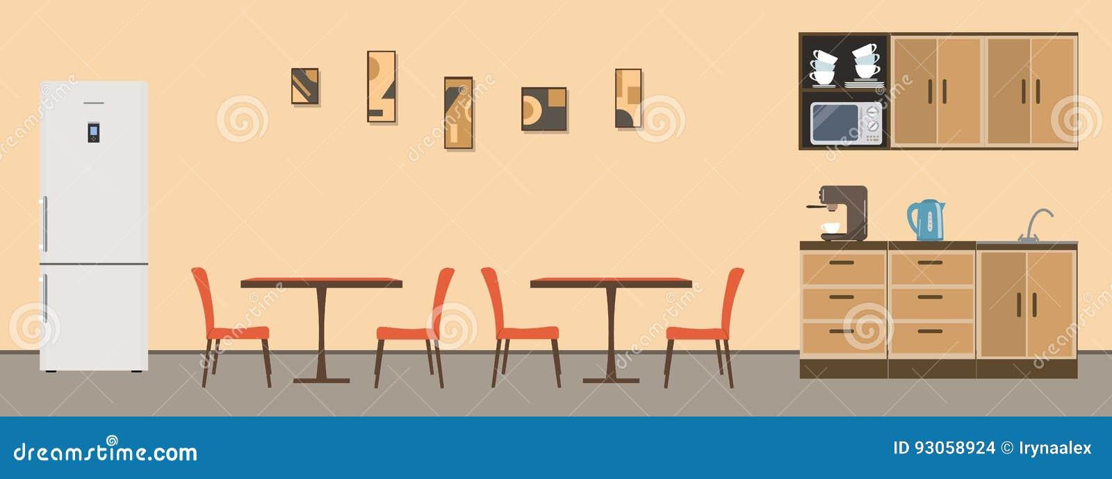 Esszimmer im Büro