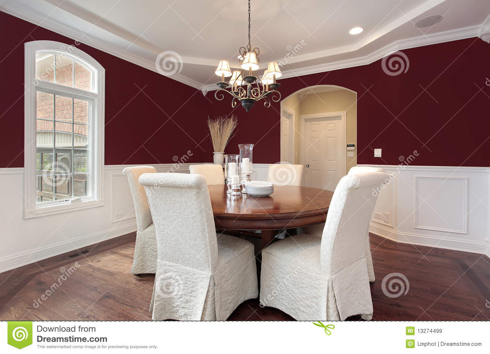 esszimmer mit roten wnden - Rote Wand Esszimmer