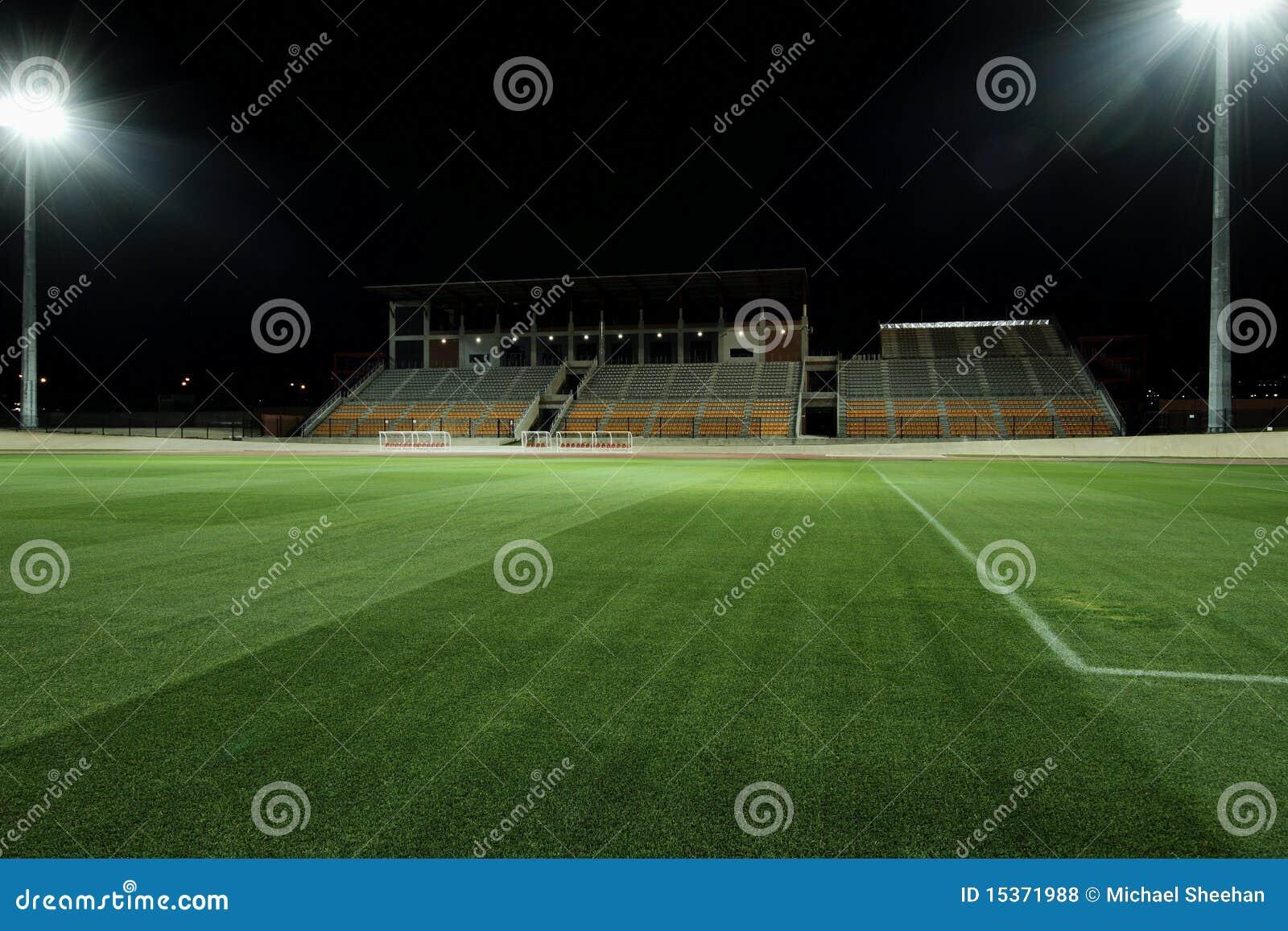 Estádio na noite