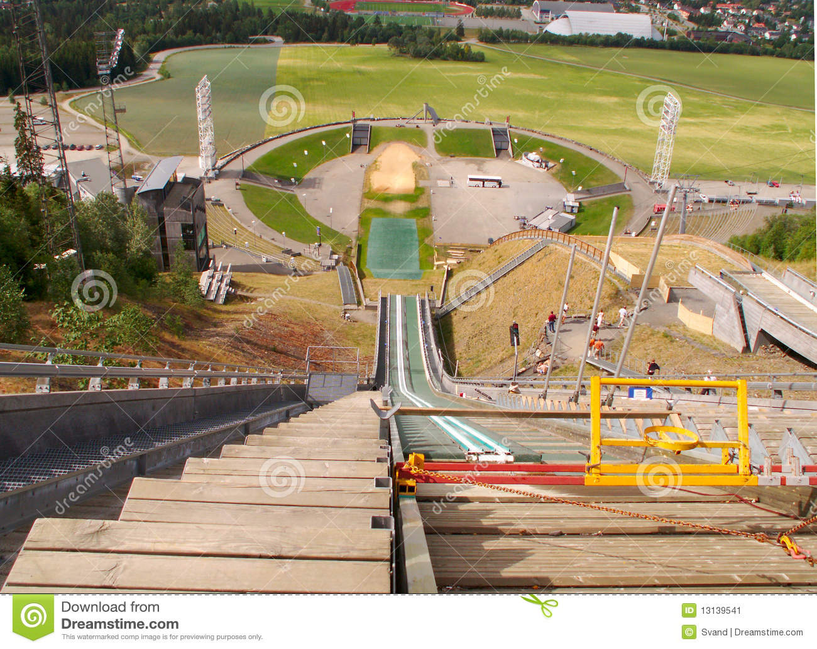 Estádio olímpico de Lillehammer