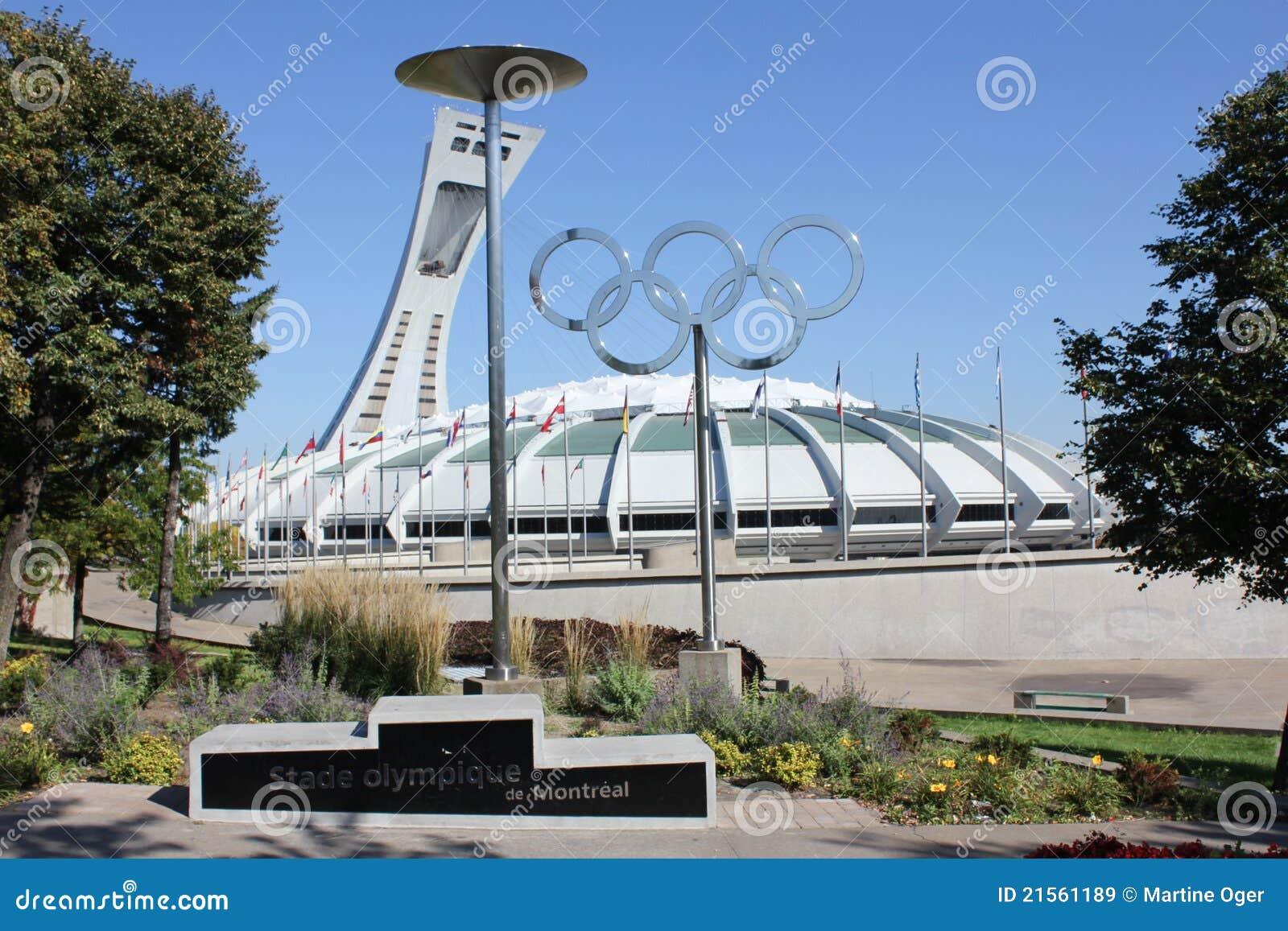 Estádio olímpico de Montreal.
