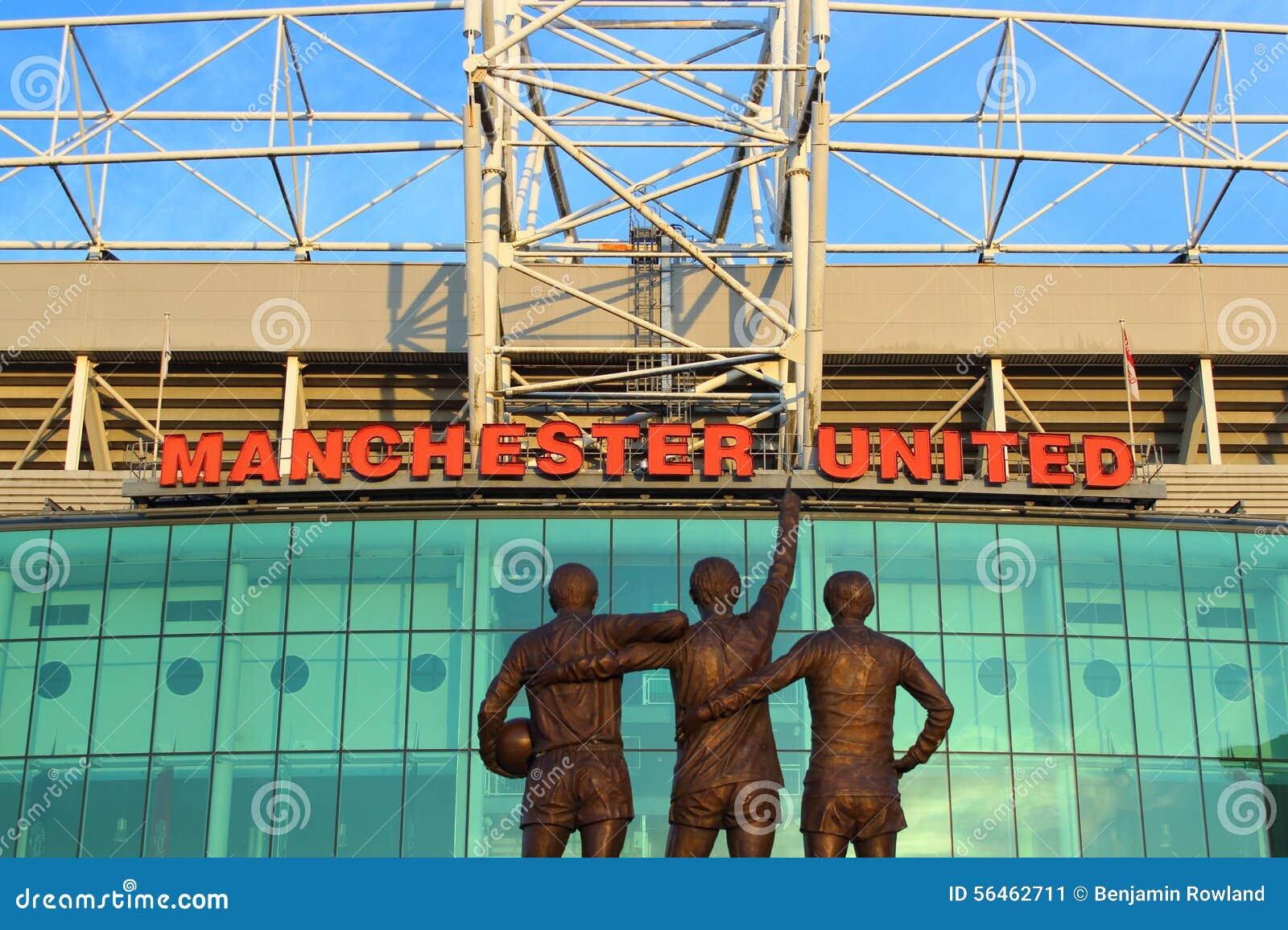 Estádio velho de Trafford