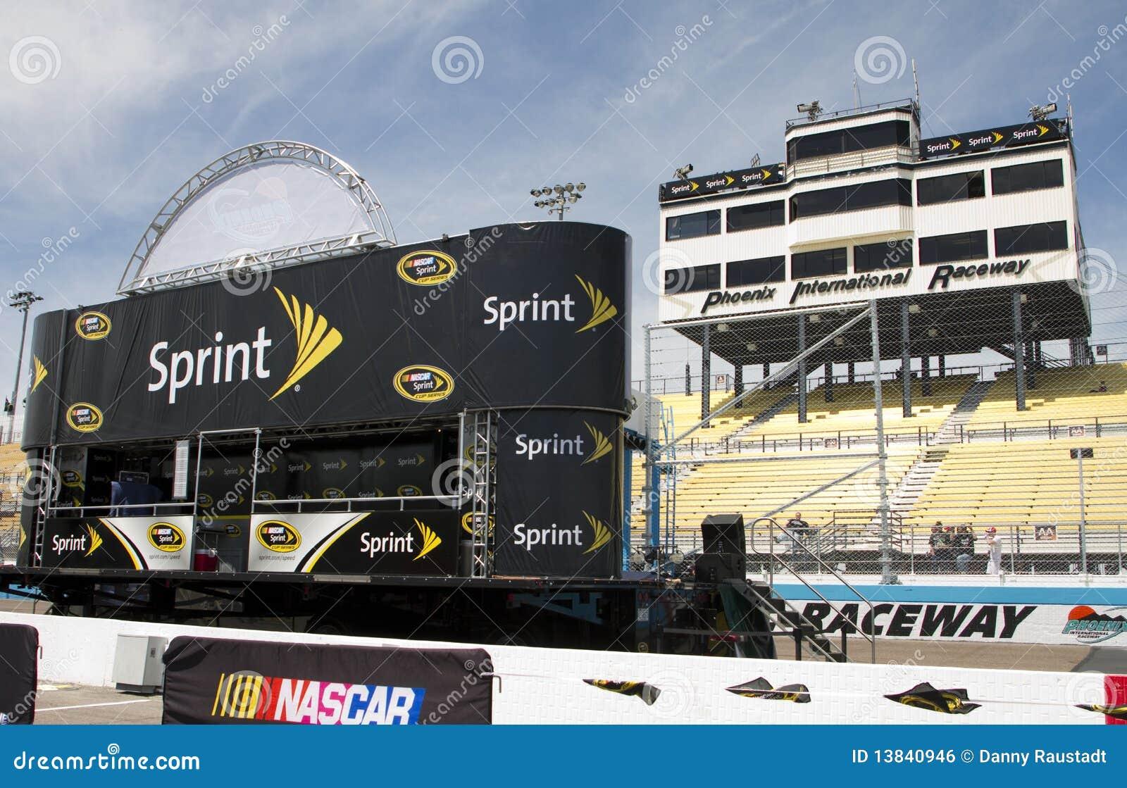 Estágio de introdução do excitador do copo de NASCAR Sprint