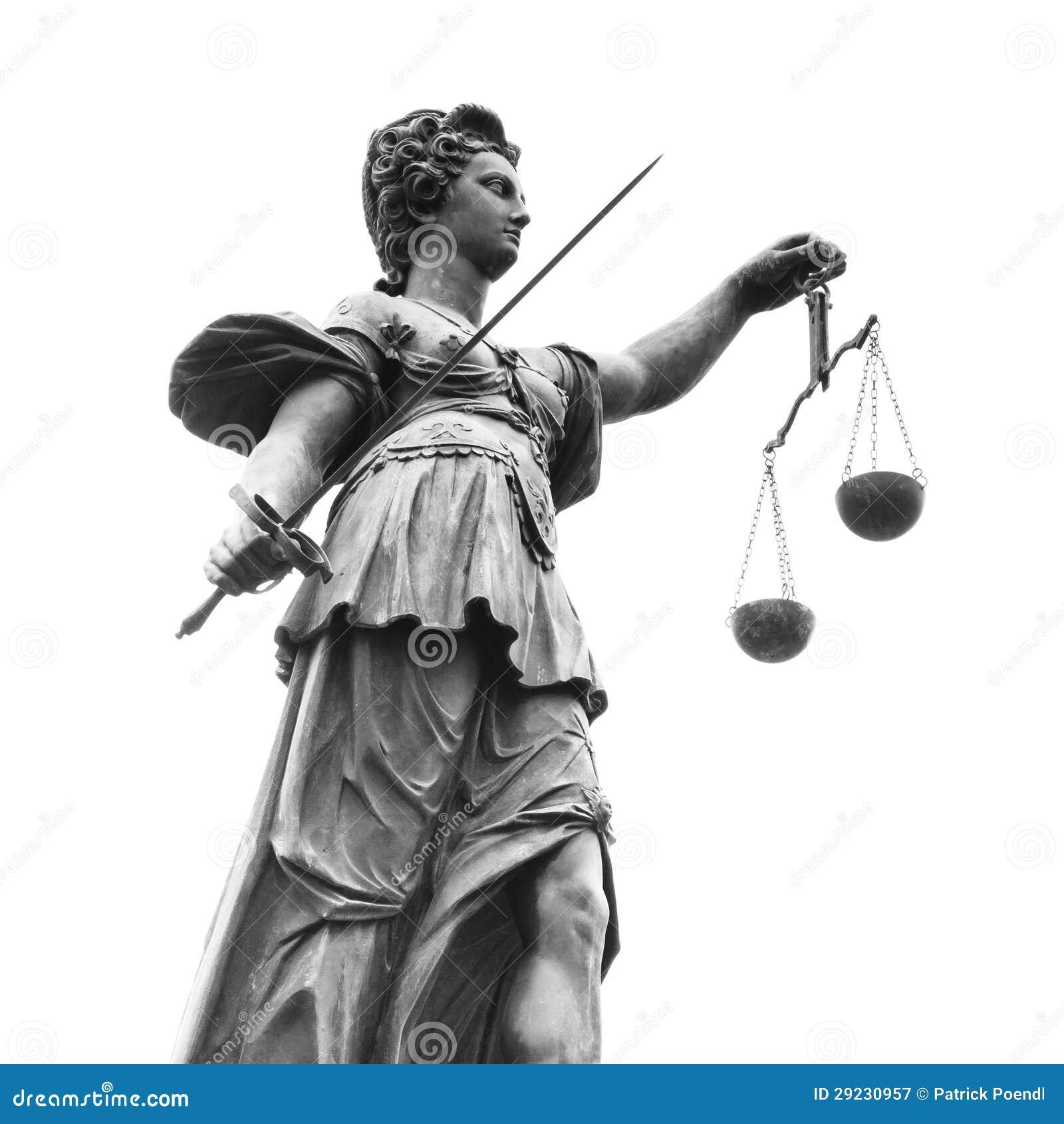 Download Estátua Da Senhora Justiça (Justitia) Imagem de Stock - Imagem de hesse, germany: 29230957