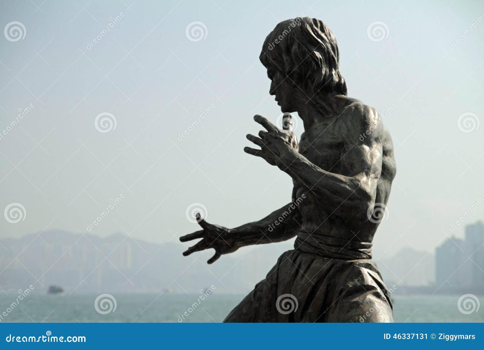 Estátua de Bruce Lee