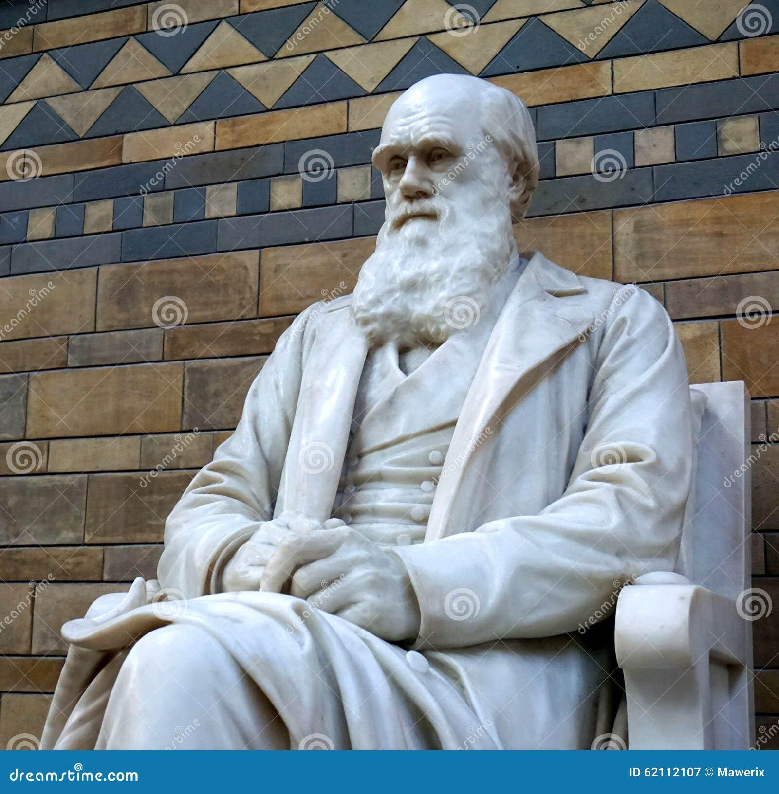 Estátua de Charles Darwin