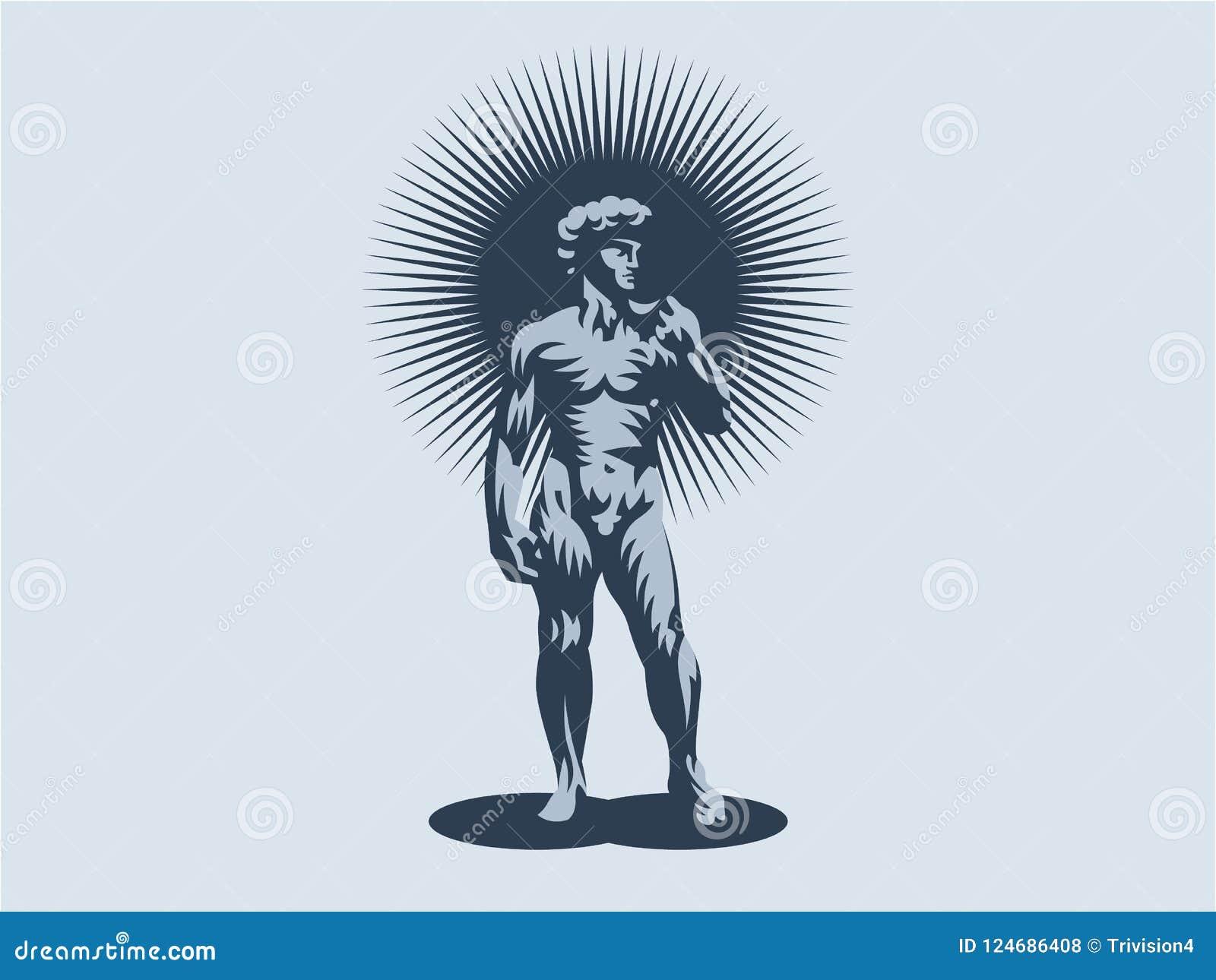 Estátua de David ou de Apollo