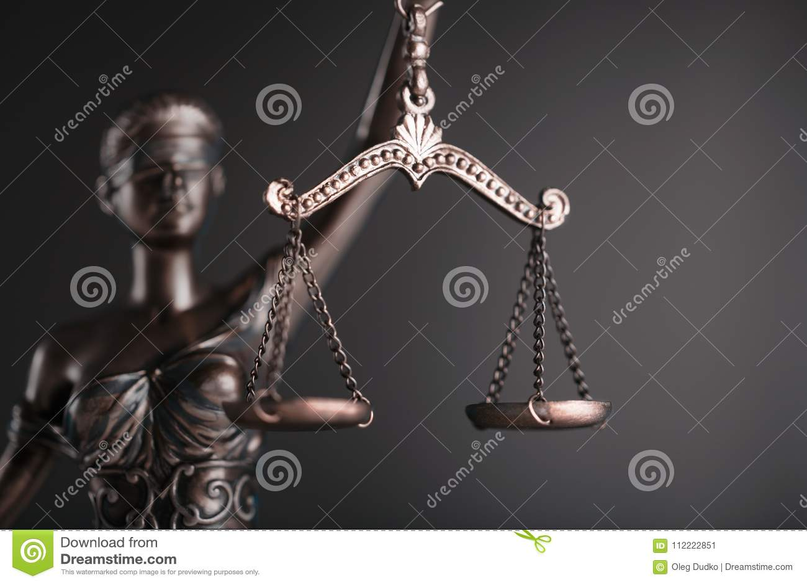 Estátua de justiça