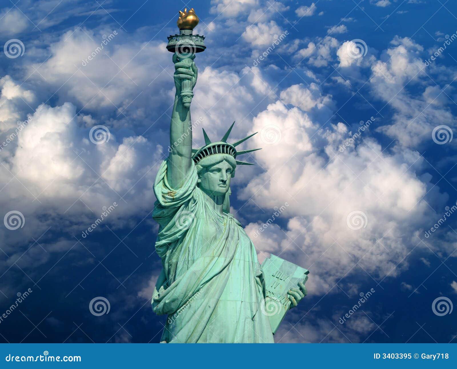 A estátua de liberdade