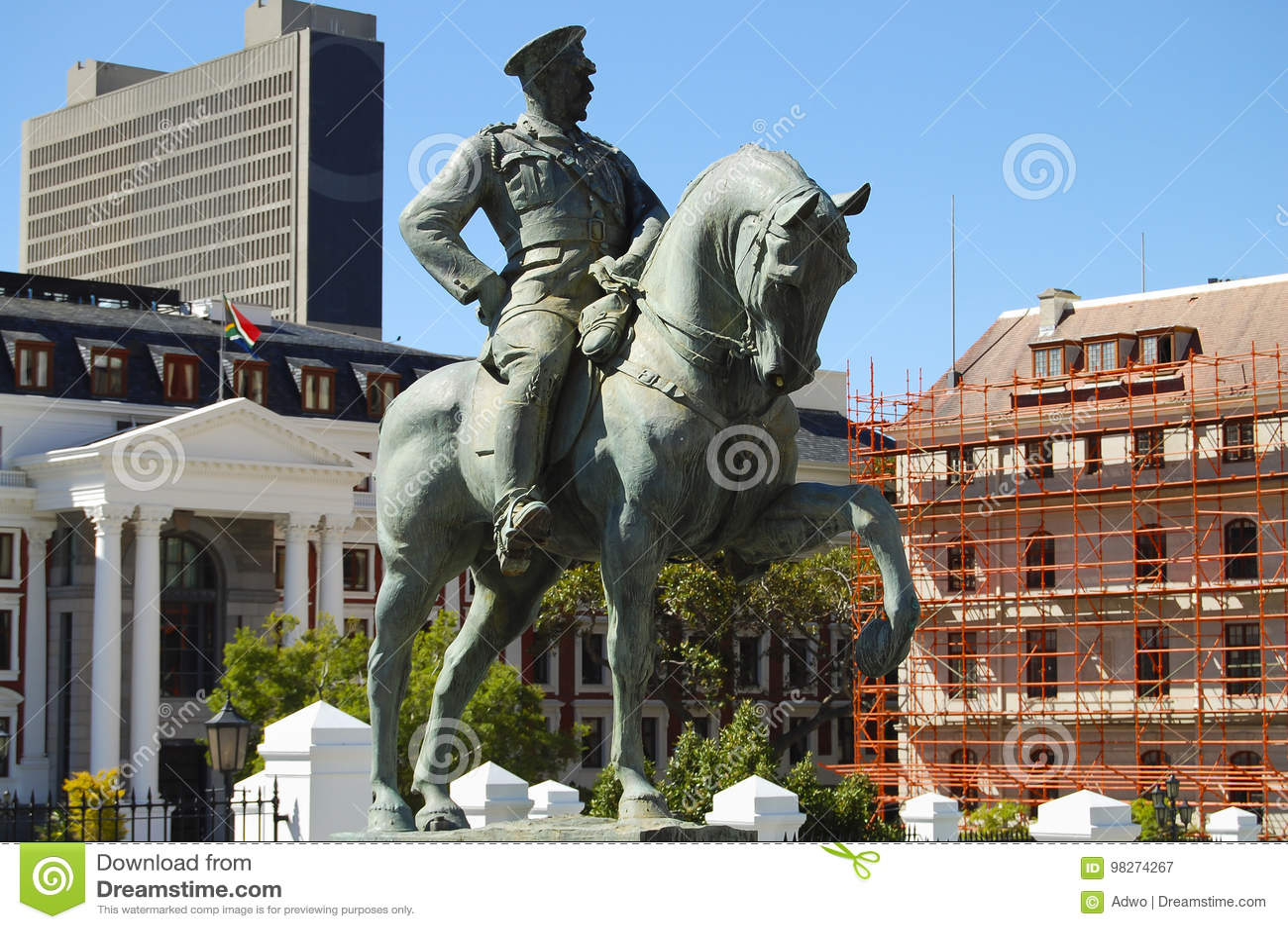 Estátua de Lovis Botha - Cape Town