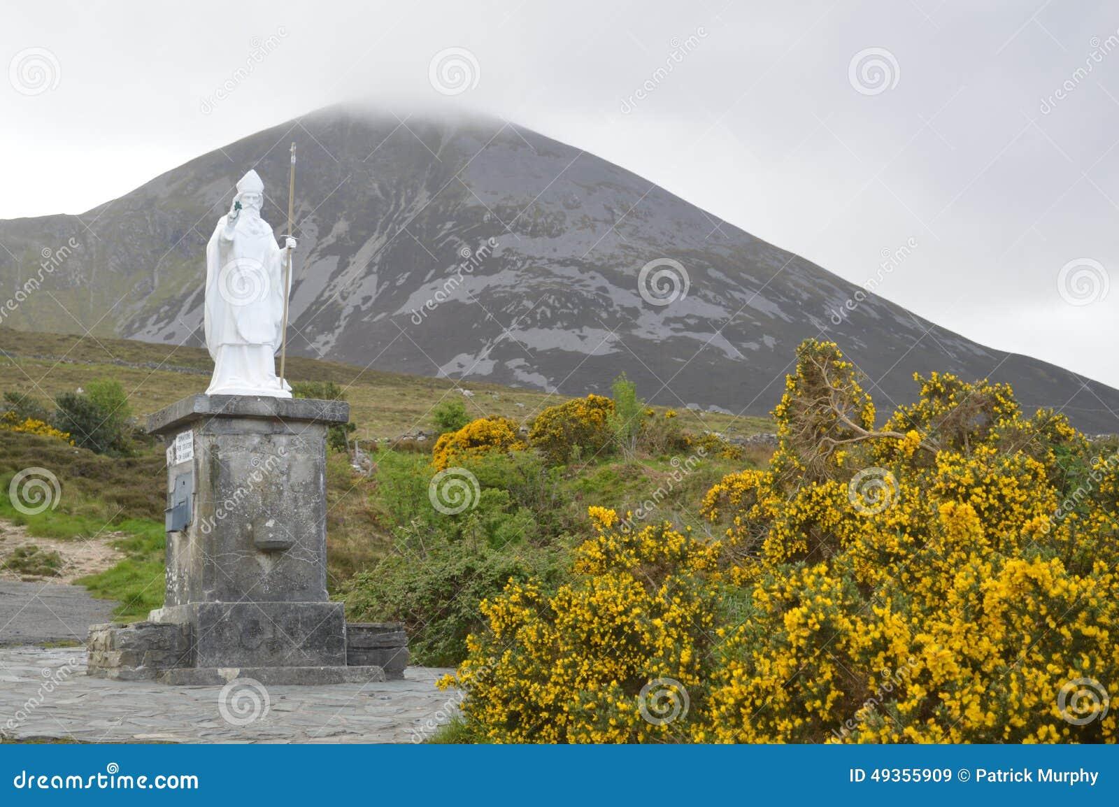 Estátua de St Patrick, Croagh Patrick, Irlanda