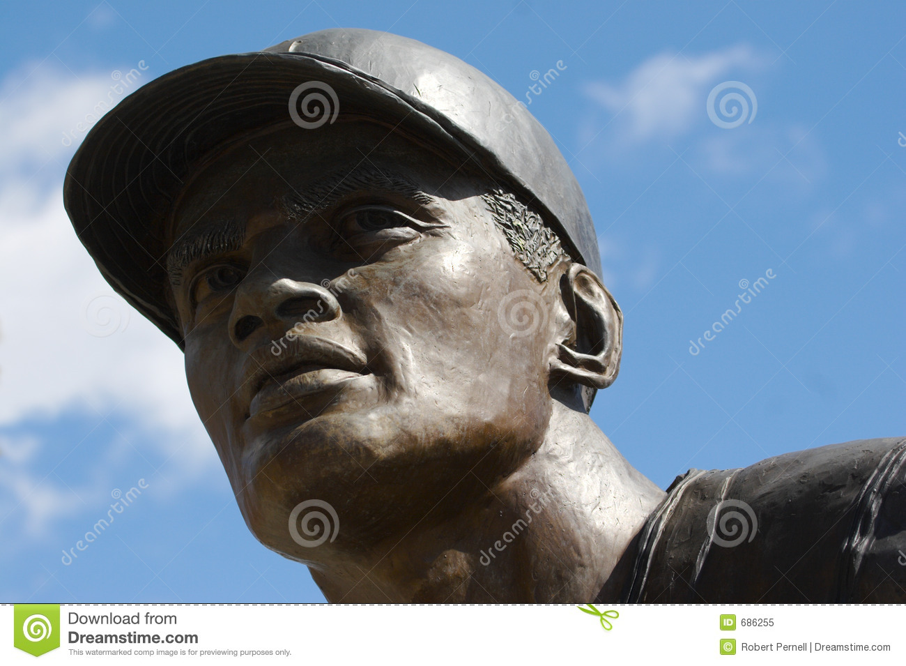Estátua do basebol