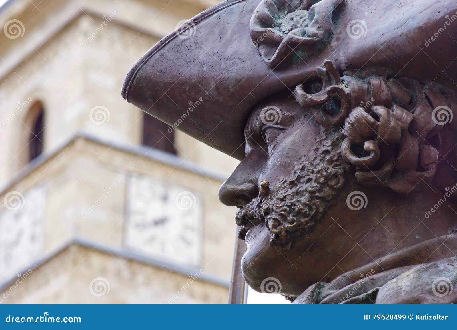 Estátua do retrato