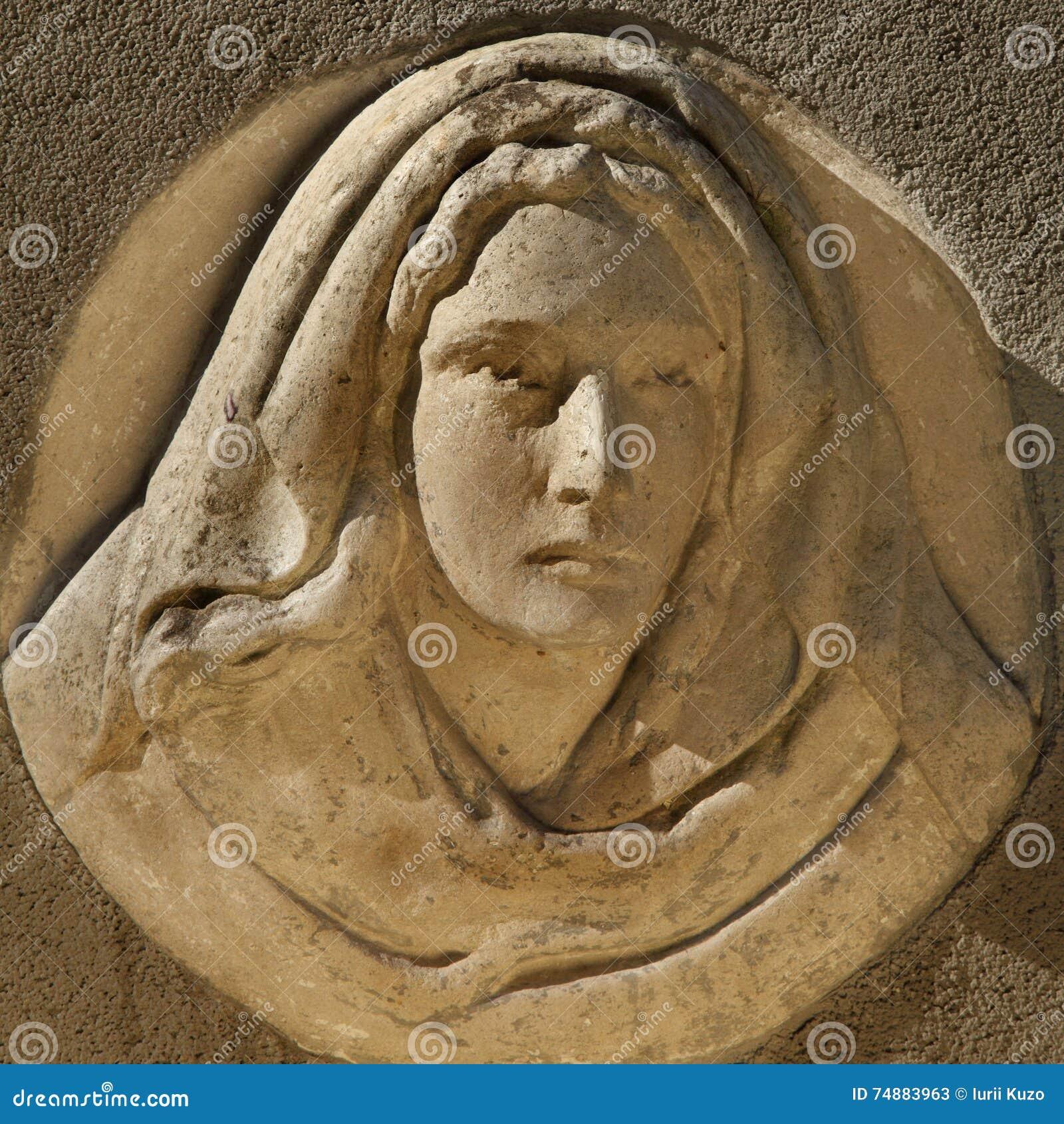Estátua do Virgin Mary