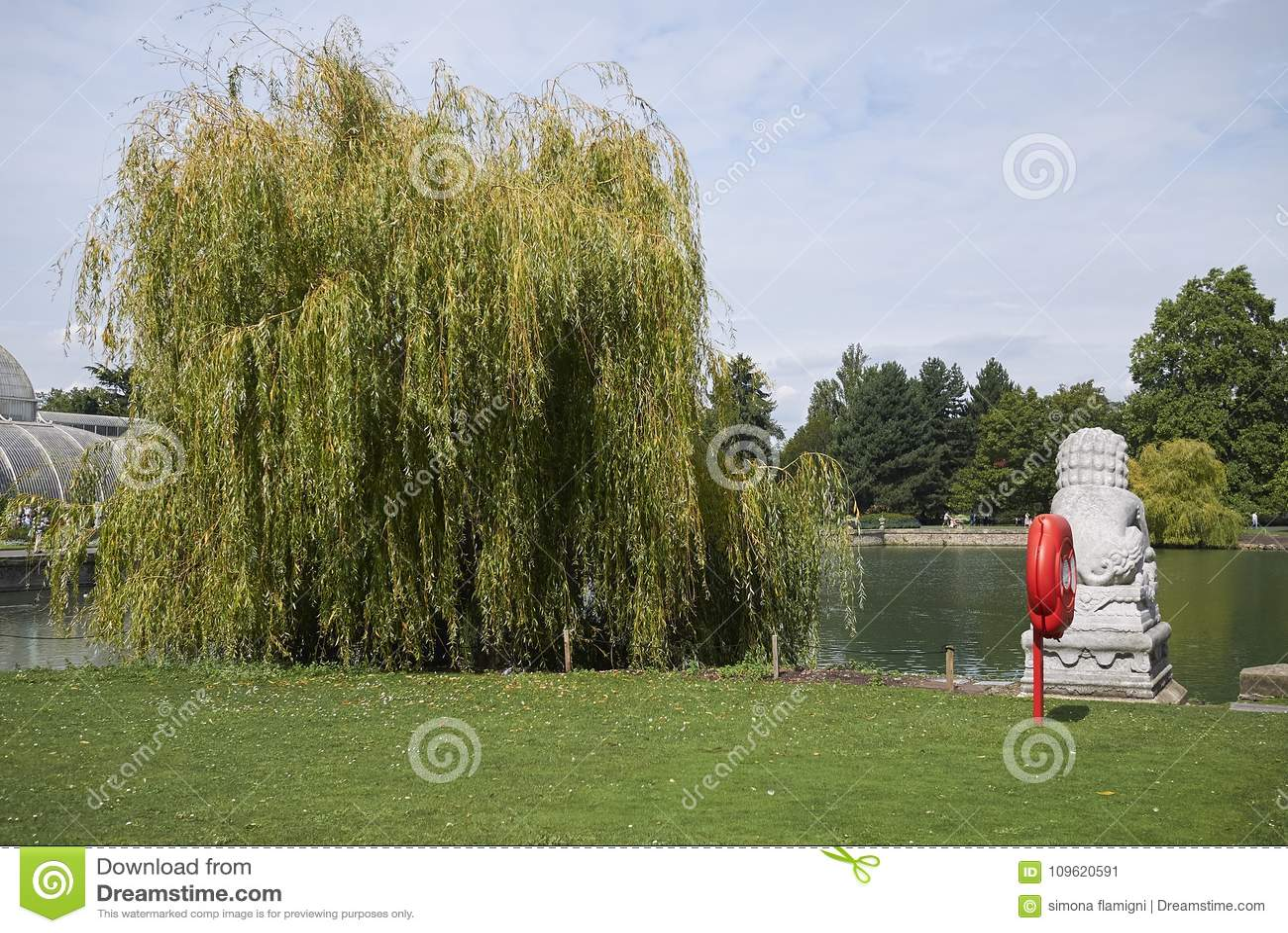 Estátua dos jardins de Kew