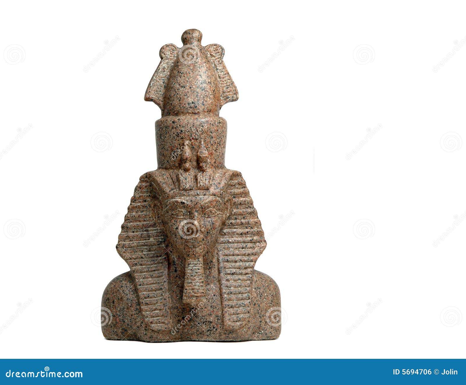 Estátua egípcia do Pharaoh