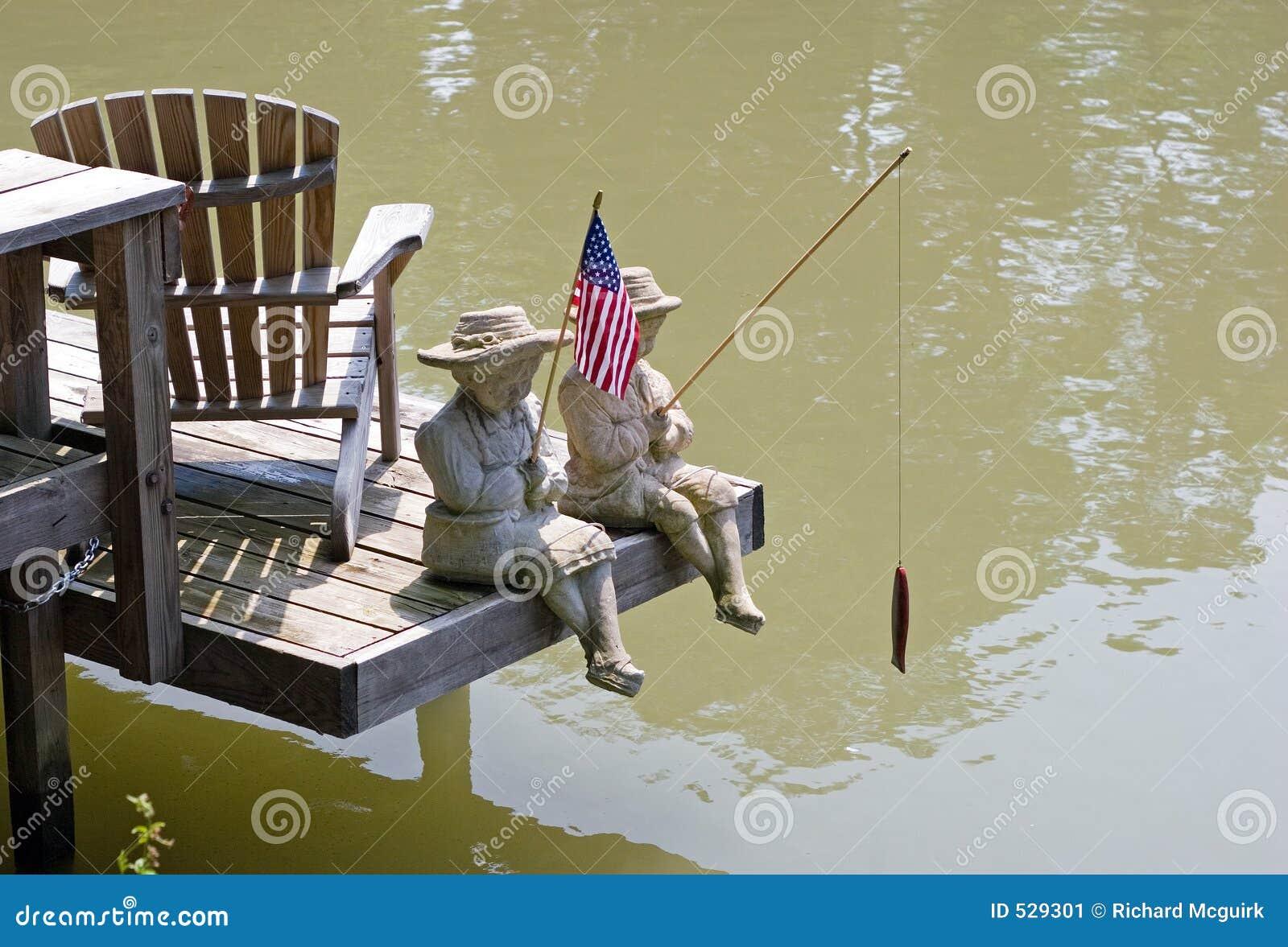 Estátuas no canal de Erie