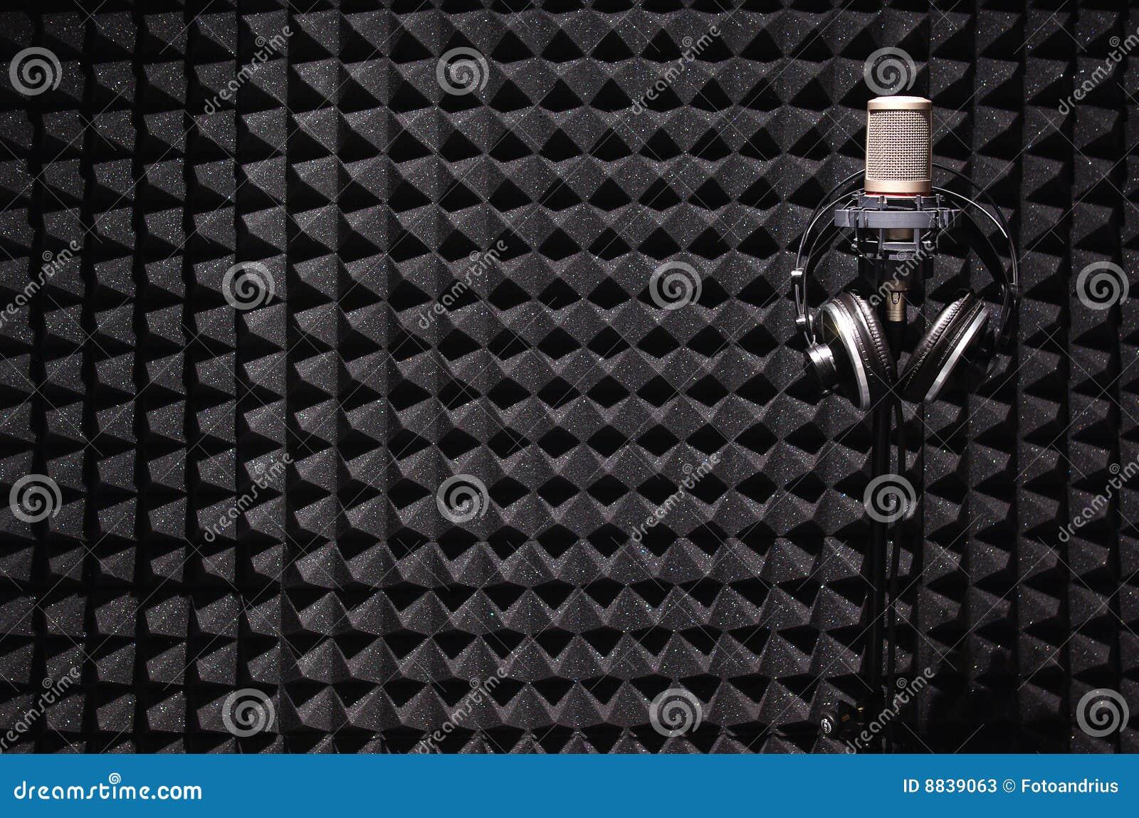Estúdio de gravação sadia