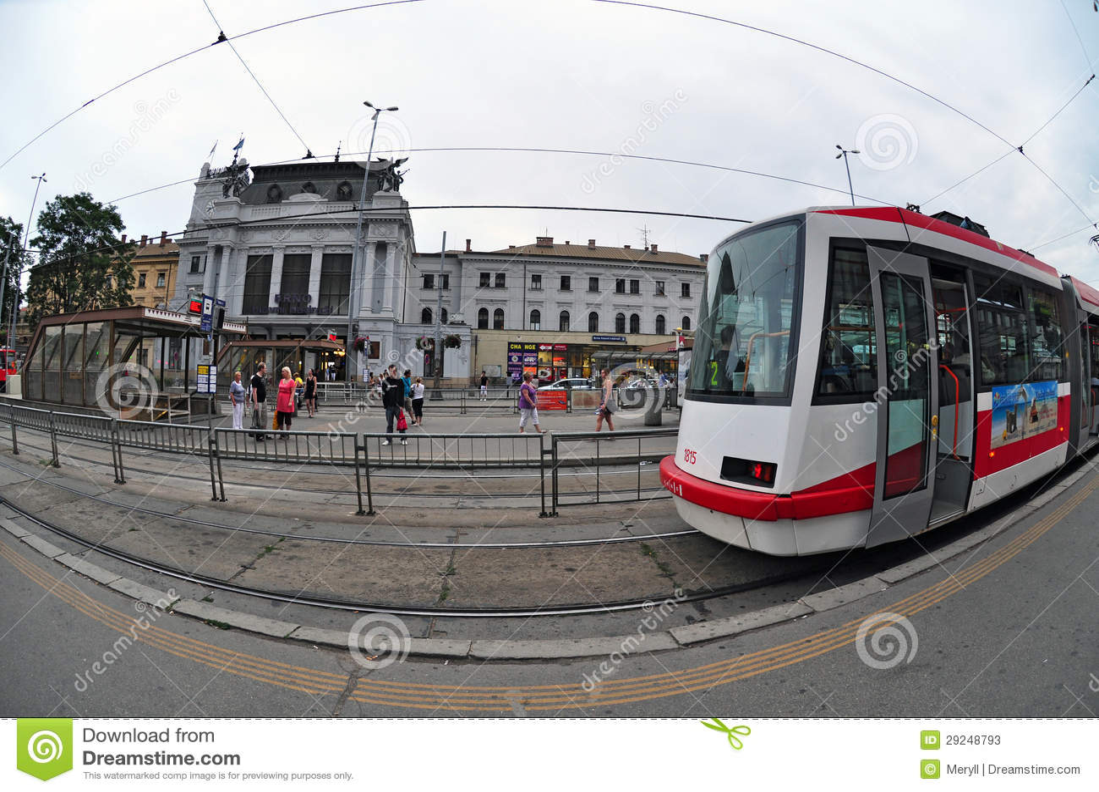 Download Estação De Caminhos-de-ferro Brno Foto de Stock Editorial - Imagem de curso, transporte: 29248793