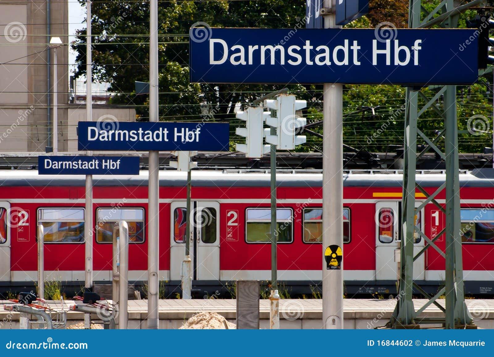 Estação de comboio alemão