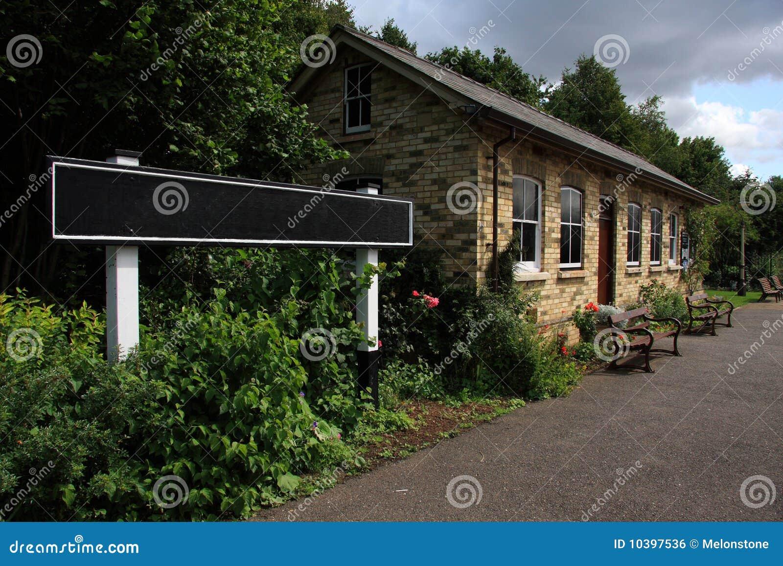 Estação de comboio restaurada