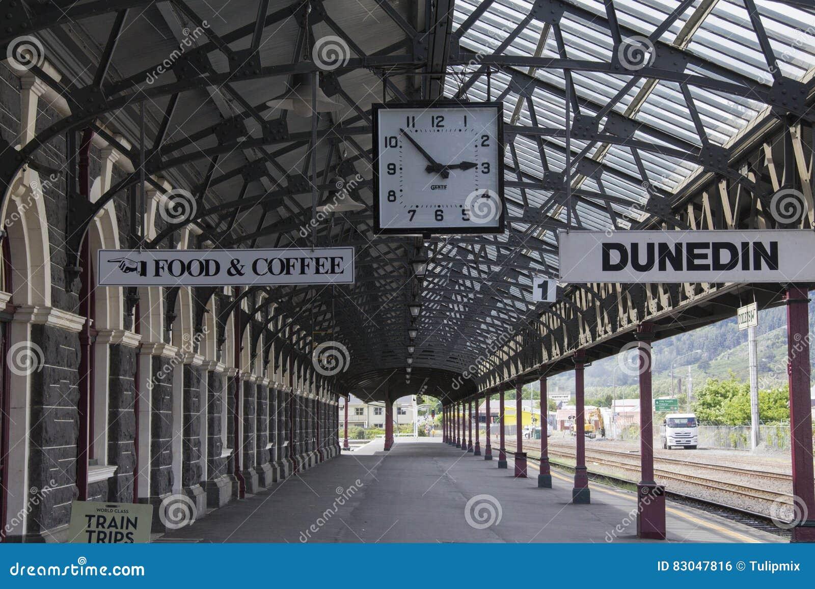 Estação de trem de Dunedin, Nova Zelândia